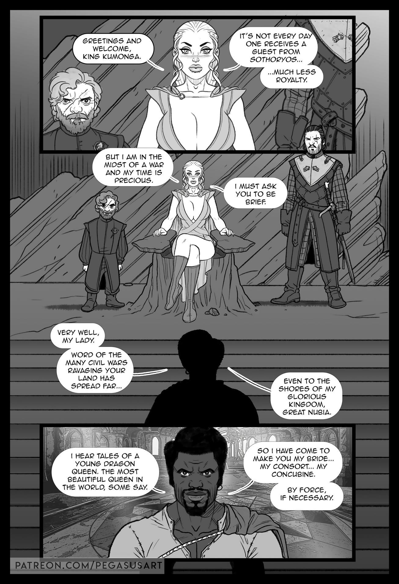 BLACKED (Game Of Thrones) [Pegasus] - Foto 2
