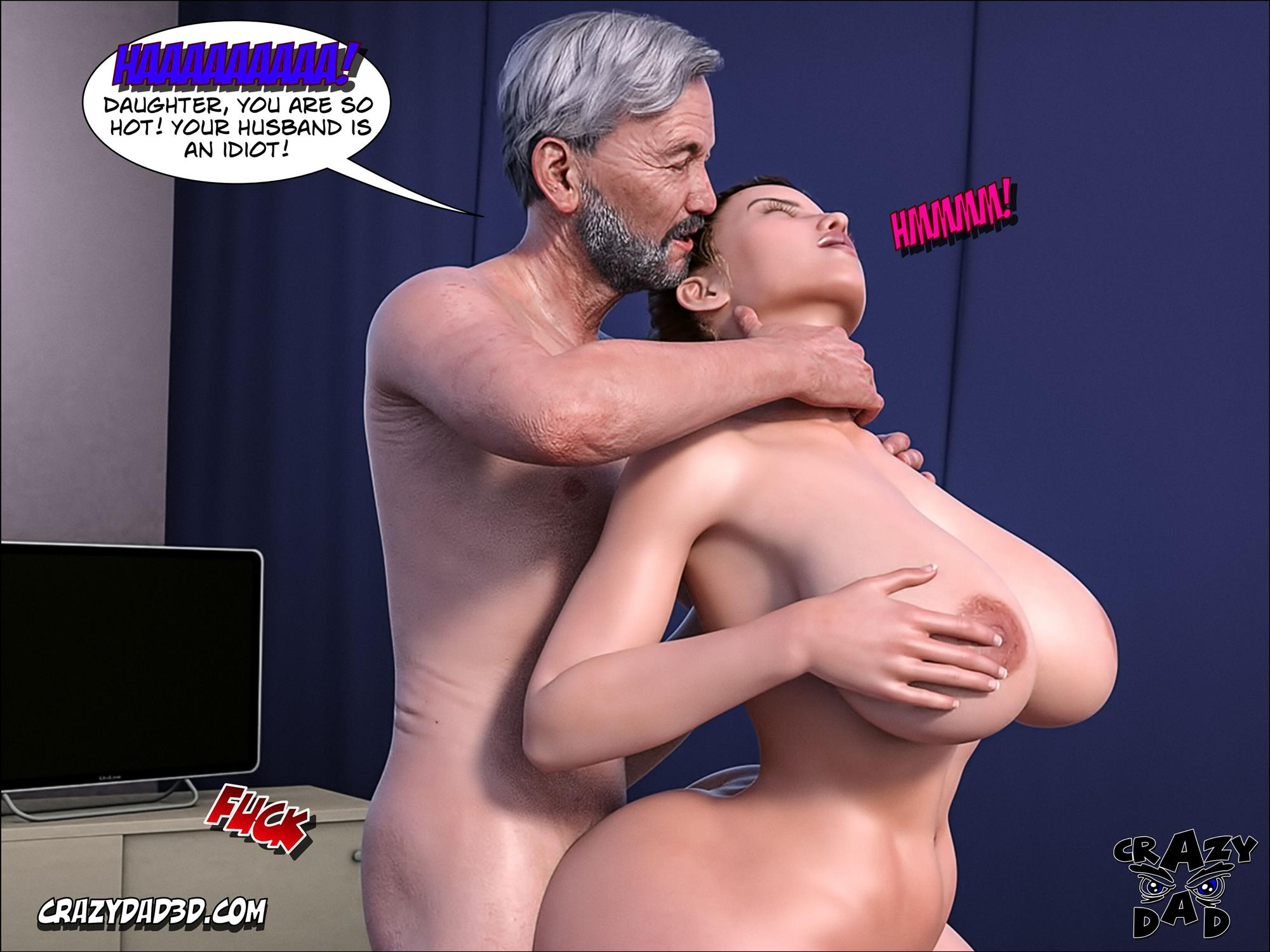 Father-in-Law at Home 10 [Crazy Dad 3D] - Foto 11