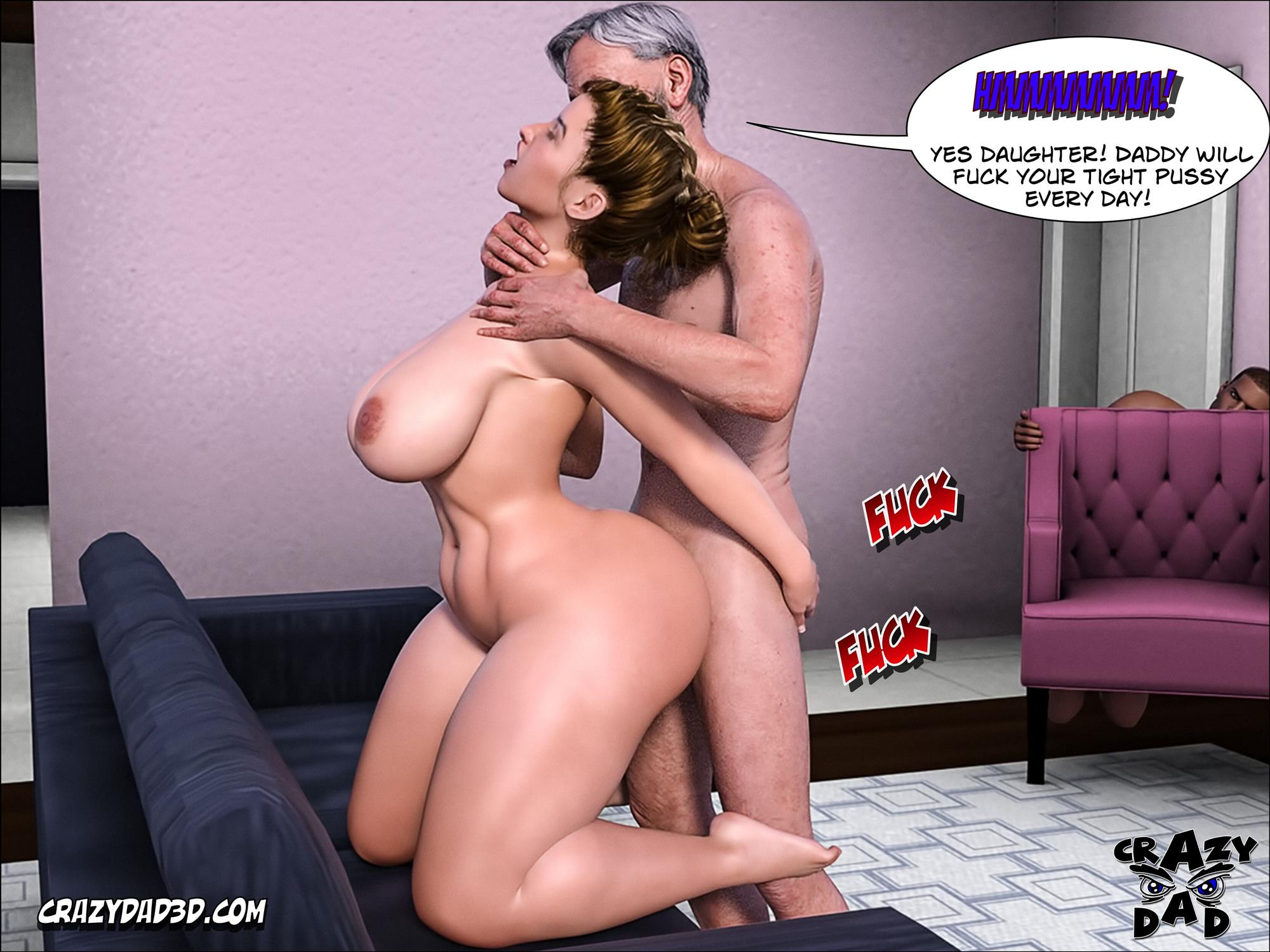 Father-in-Law at Home 10 [Crazy Dad 3D] - Foto 13