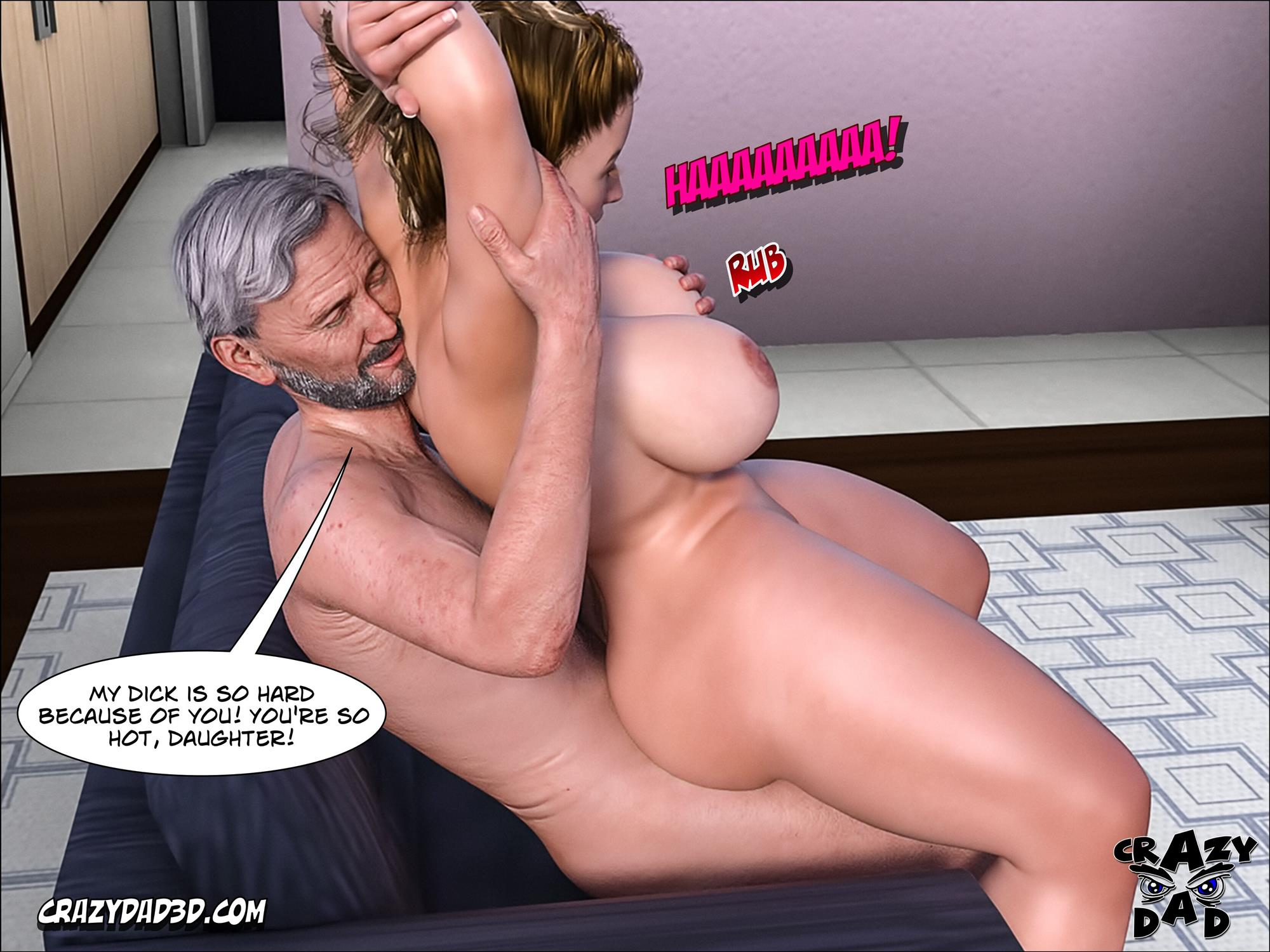 Father-in-Law at Home 10 [Crazy Dad 3D] - Foto 32