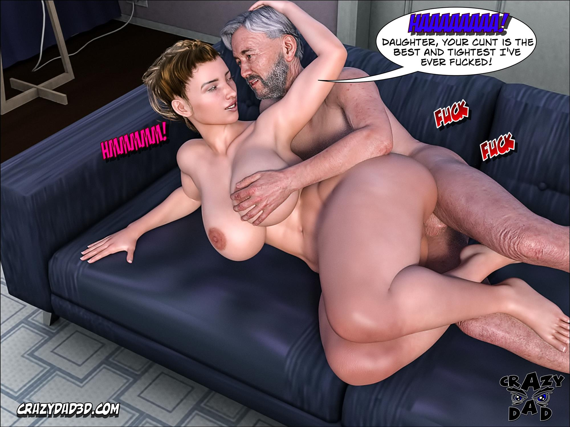 Father-in-Law at Home 10 [Crazy Dad 3D] - Foto 43