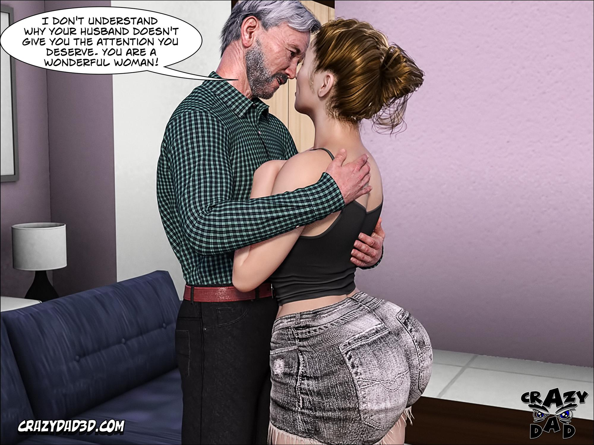 Father-in-Law at Home 10 [Crazy Dad 3D] - Foto 58