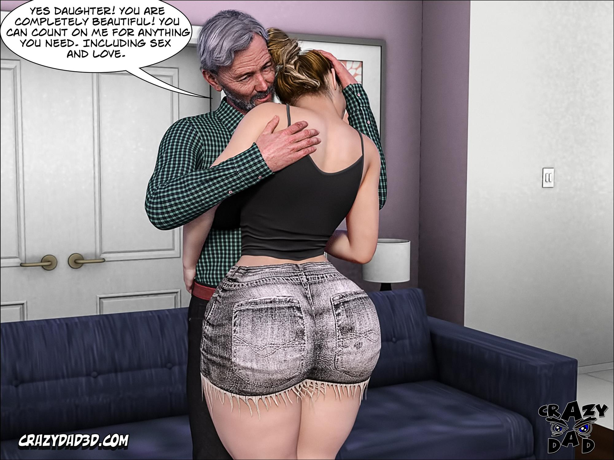 Father-in-Law at Home 10 [Crazy Dad 3D] - Foto 60