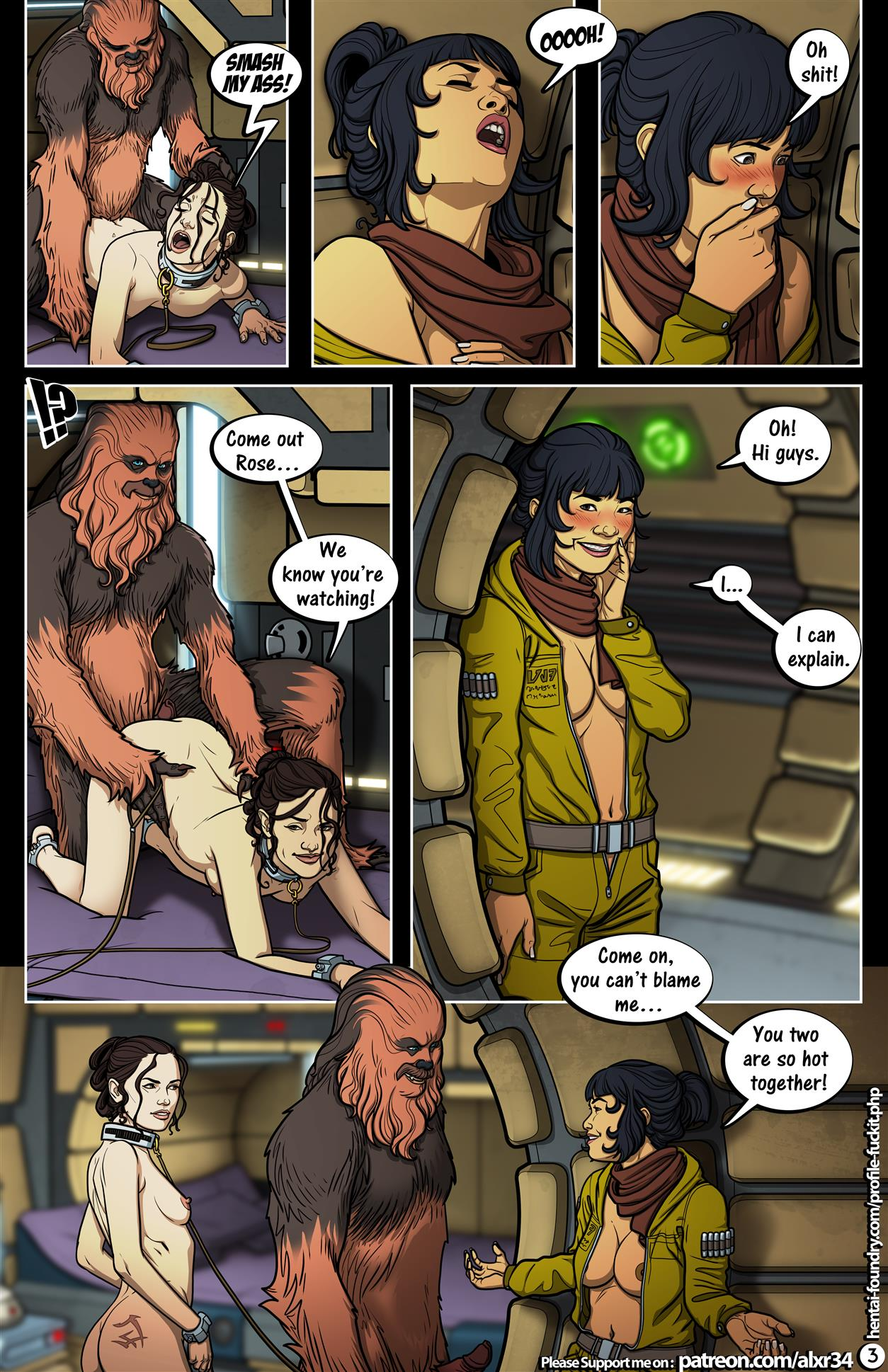A Complete Guide to Wookie Sex III (Star Wars) [Alx] - Foto 4