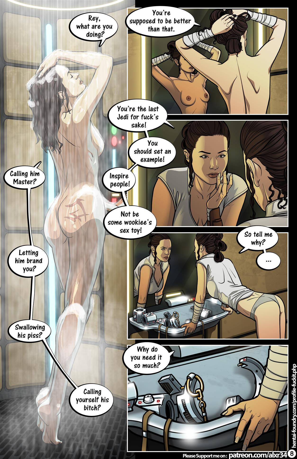 A Complete Guide to Wookie Sex III (Star Wars) [Alx] - Foto 9