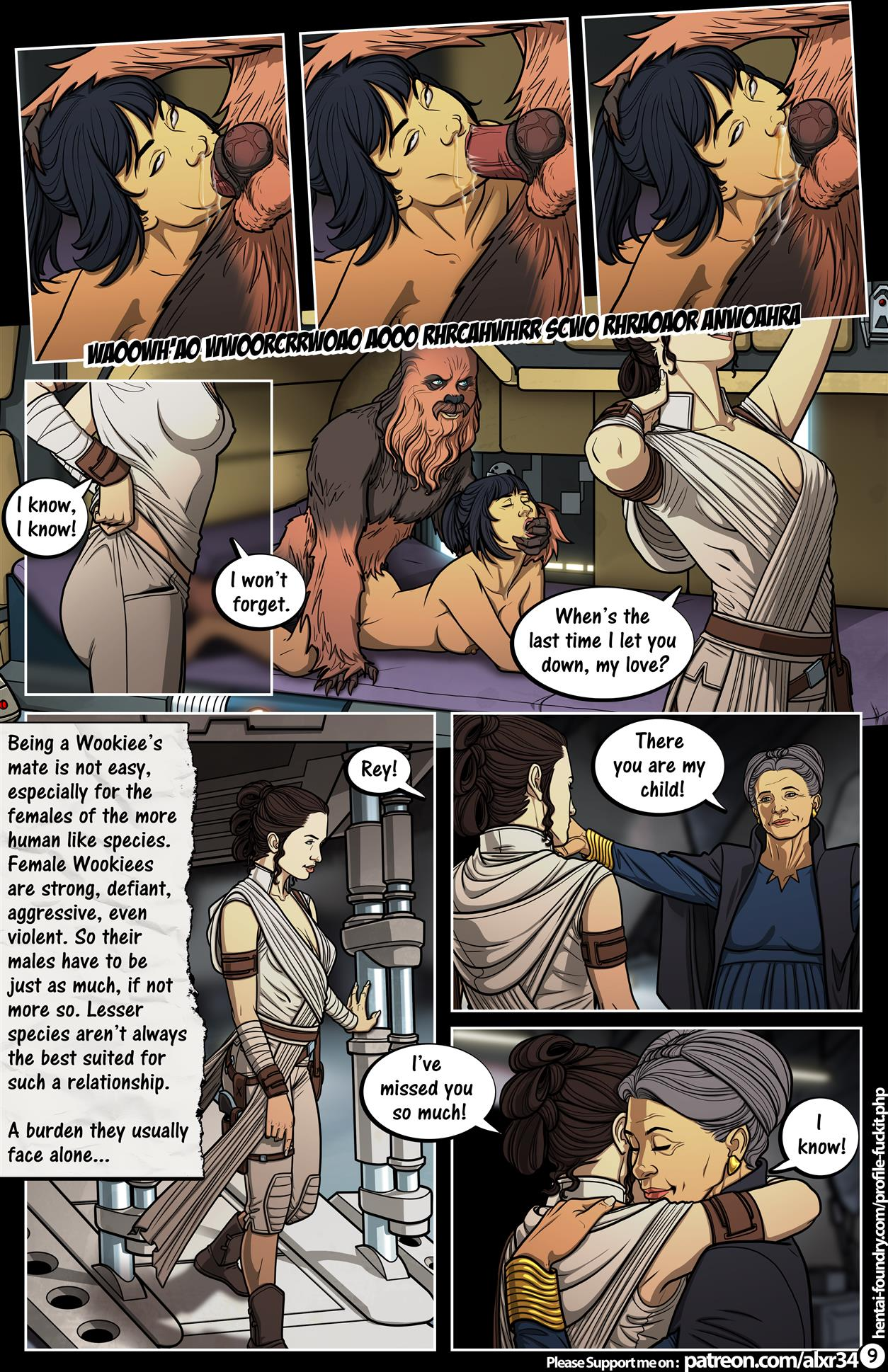 A Complete Guide to Wookie Sex III (Star Wars) [Alx] - Foto 10