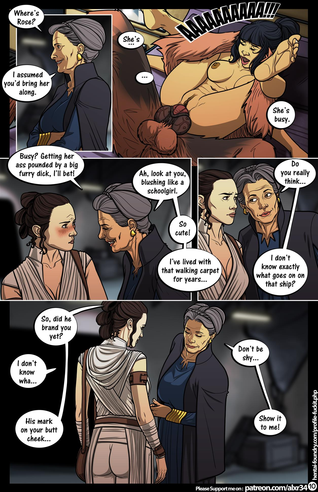 A Complete Guide to Wookie Sex III (Star Wars) [Alx] - Foto 11