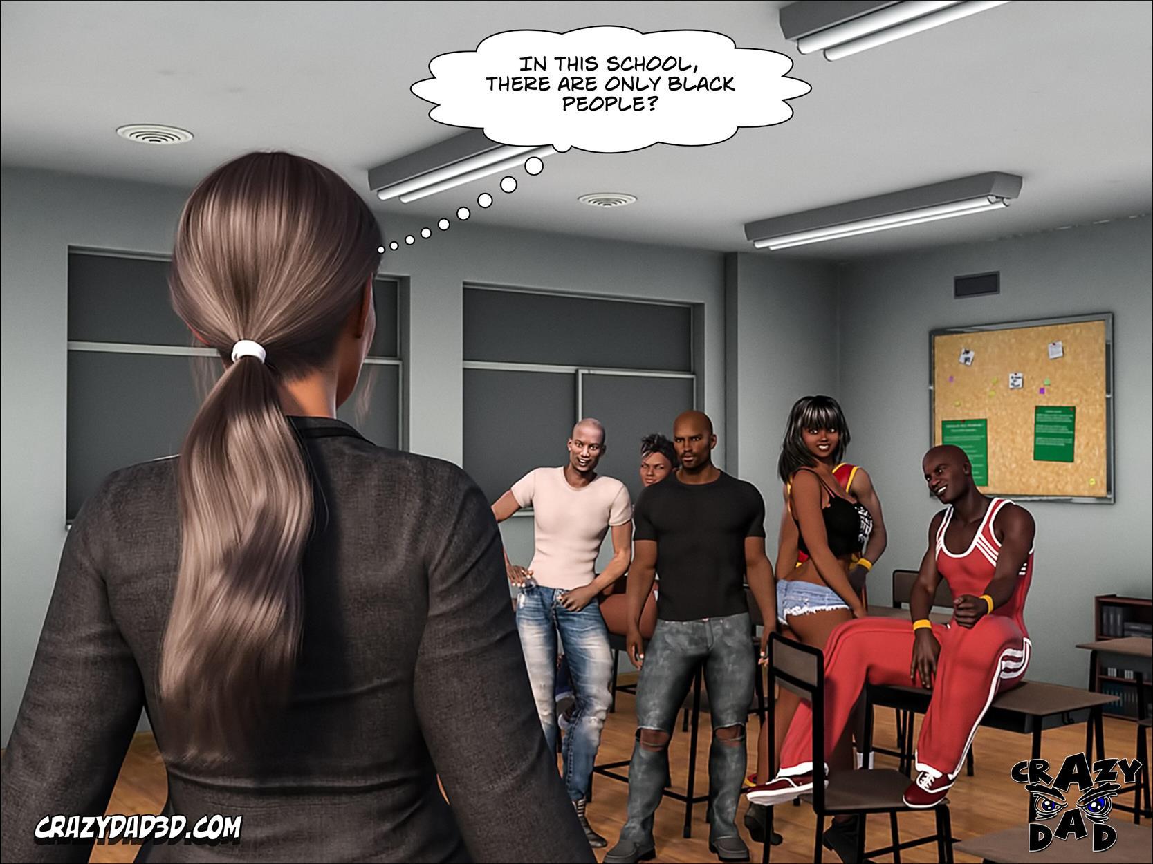 Spank 2 -Teacher Marilia [Crazy Dad 3D] - Foto 7