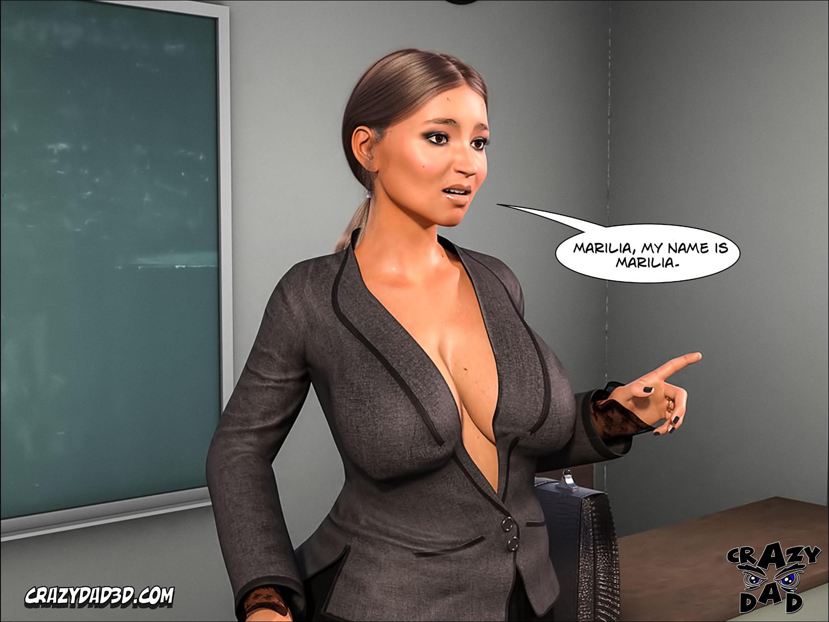 Spank 2 -Teacher Marilia [Crazy Dad 3D] - Foto 15