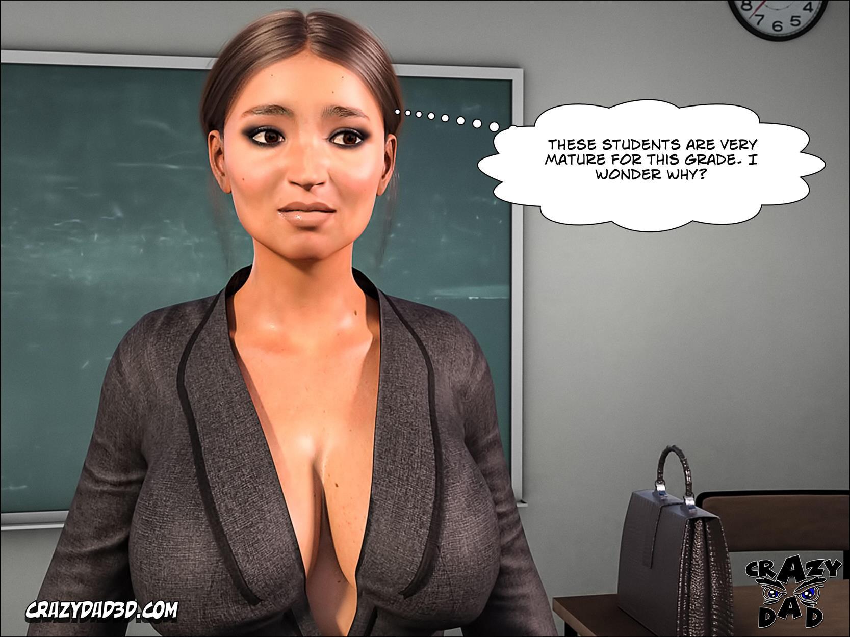 Spank 2 -Teacher Marilia [Crazy Dad 3D] - Foto 22