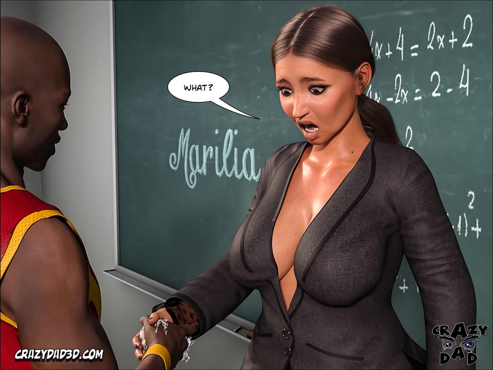 Spank 2 -Teacher Marilia [Crazy Dad 3D] - Foto 38