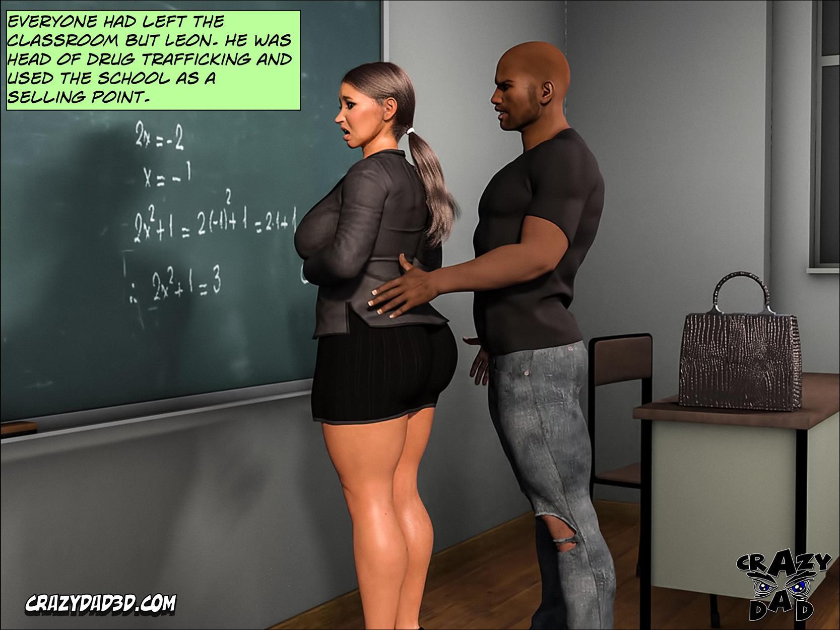 Spank 2 -Teacher Marilia [Crazy Dad 3D] - Foto 42