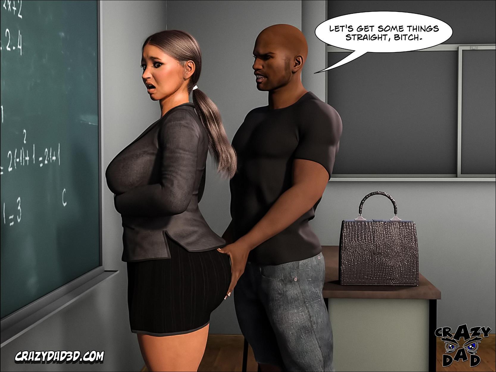 Spank 2 -Teacher Marilia [Crazy Dad 3D] - Foto 43