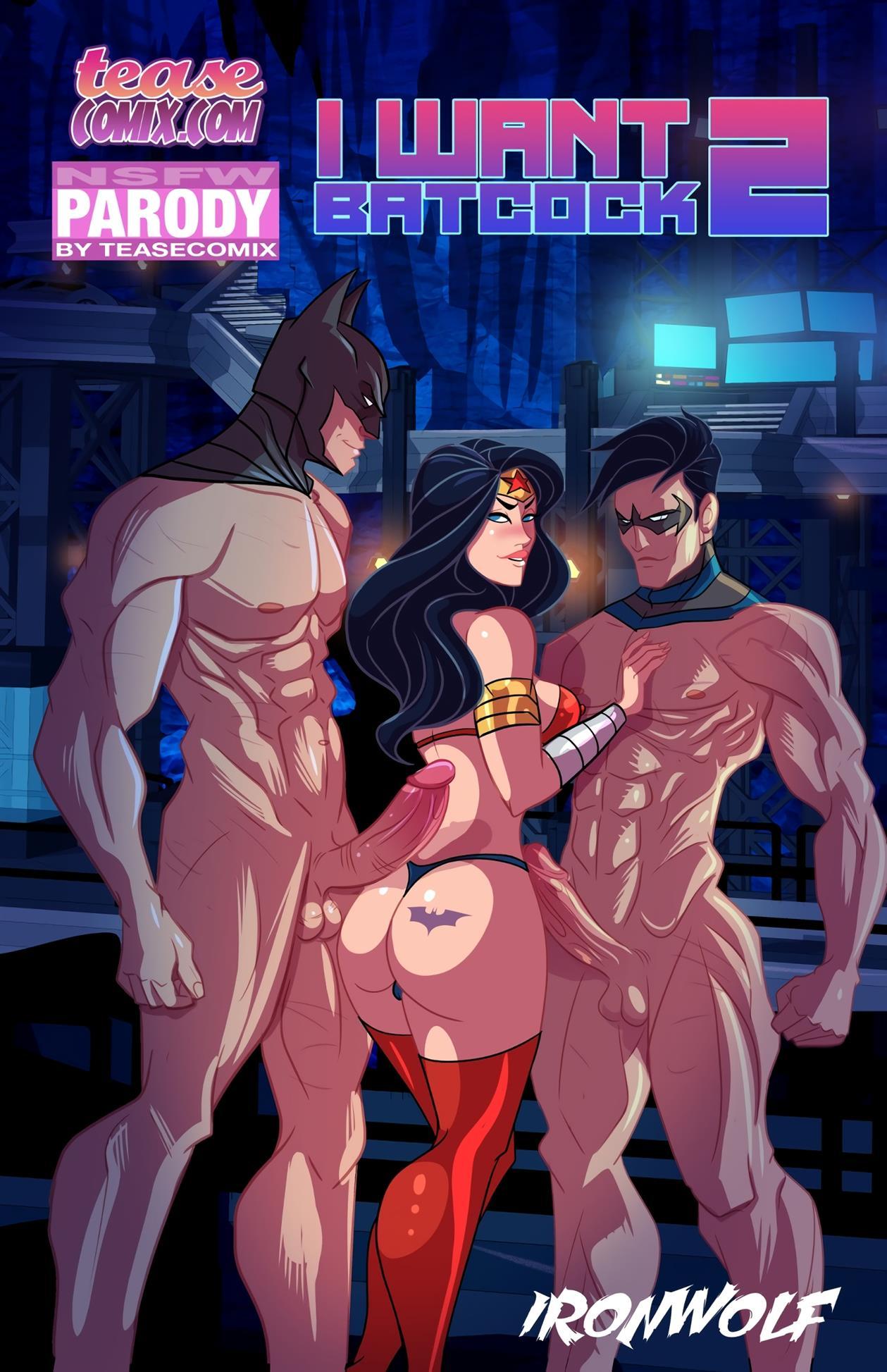 I Want Batcock 2 (Batman) [Tease Comix] - Foto 1