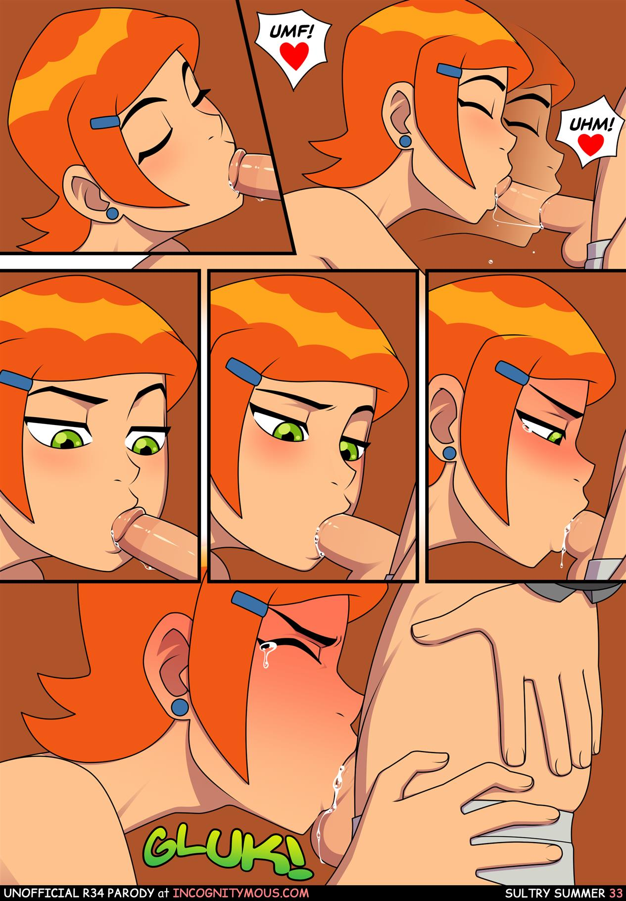 Sultry Summer (Ben 10) [Incognitymous] - Foto 34