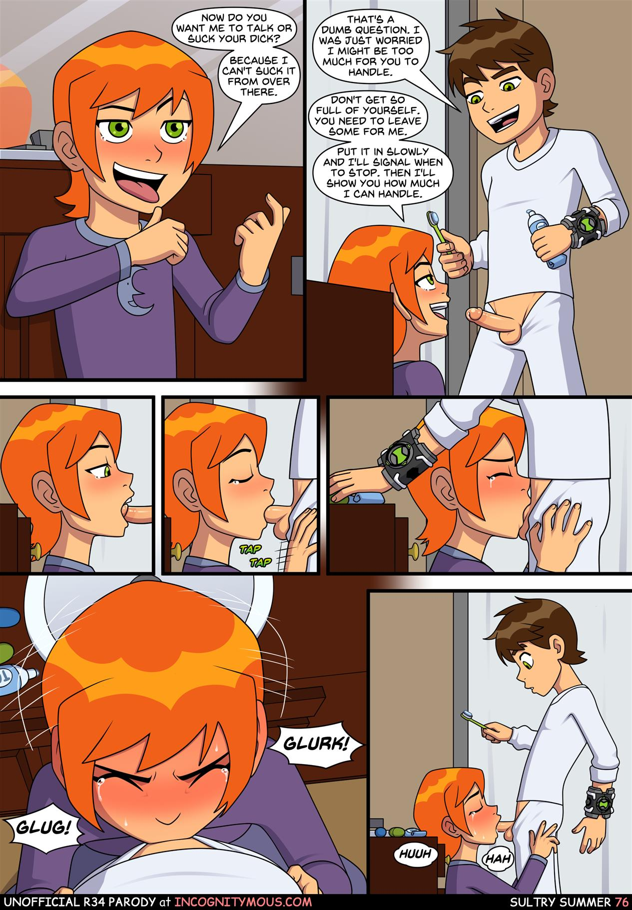 Sultry Summer (Ben 10) [Incognitymous] - Foto 77