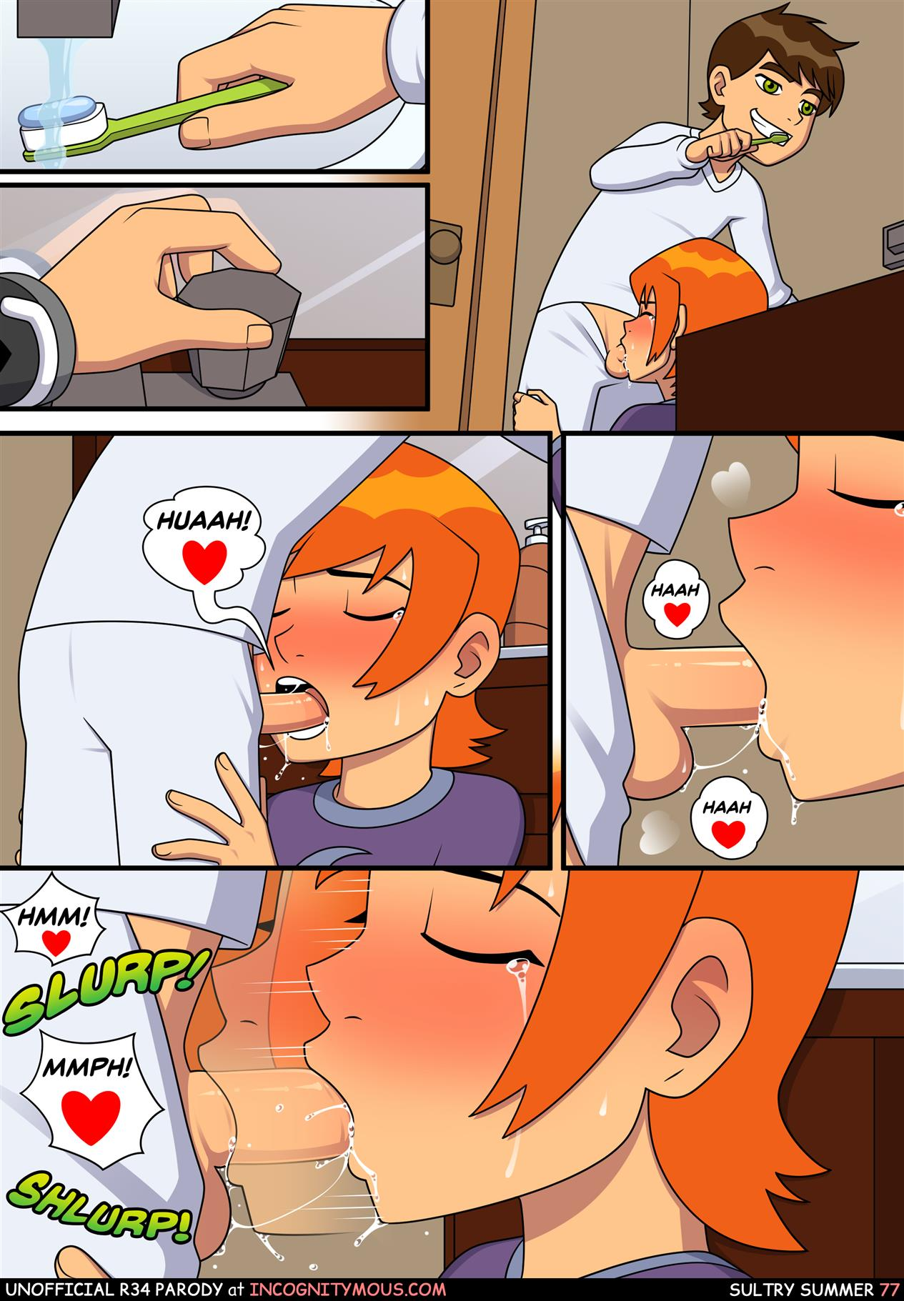 Sultry Summer (Ben 10) [Incognitymous] - Foto 78