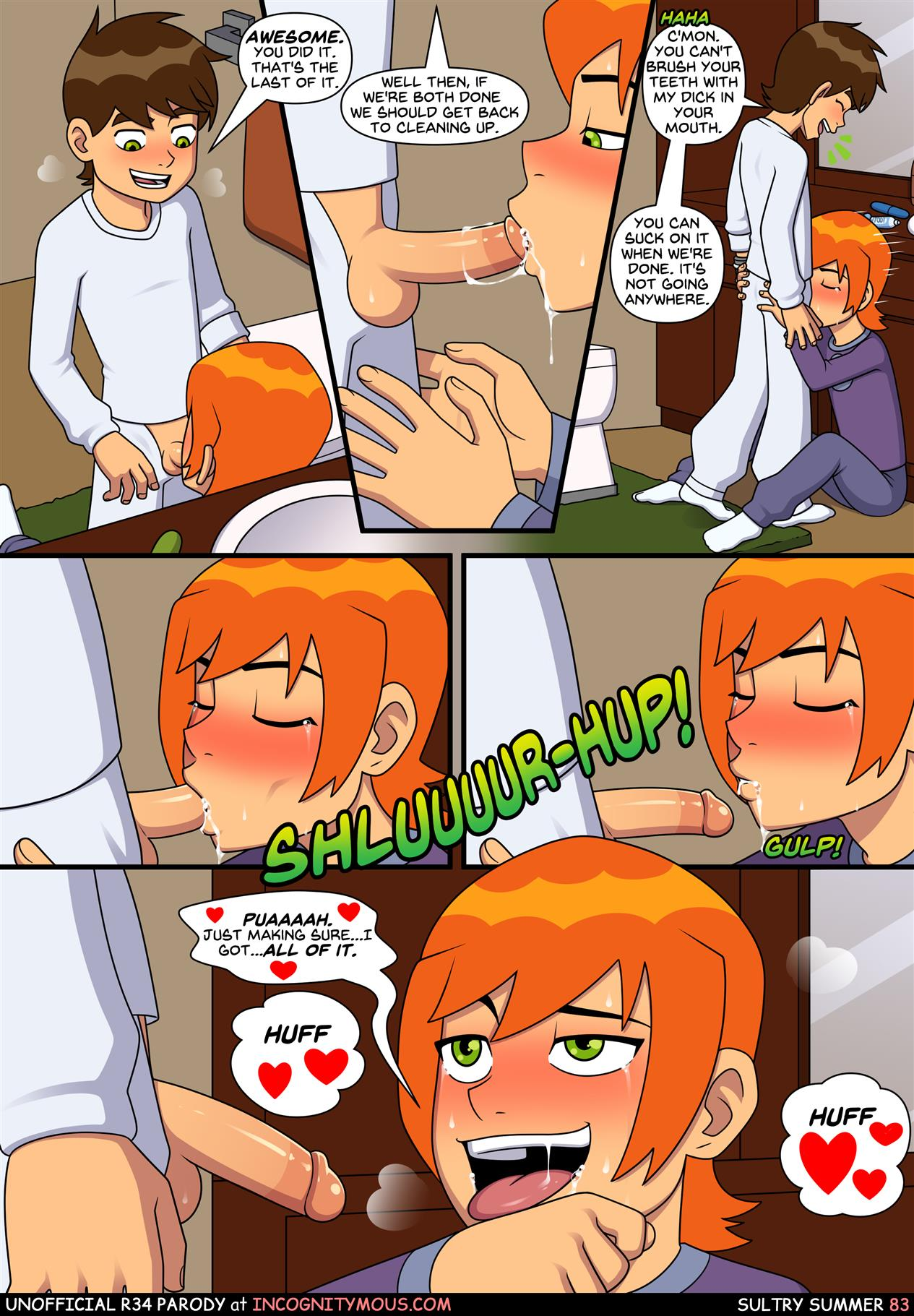 Sultry Summer (Ben 10) [Incognitymous] - Foto 84