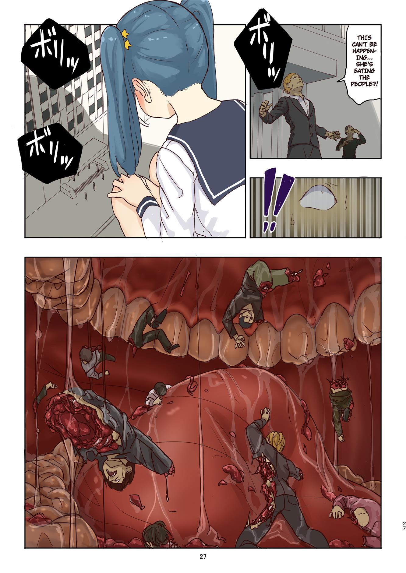 Cruel Giantess Fondue-chan's Sexy Slaughter Time - Foto 27