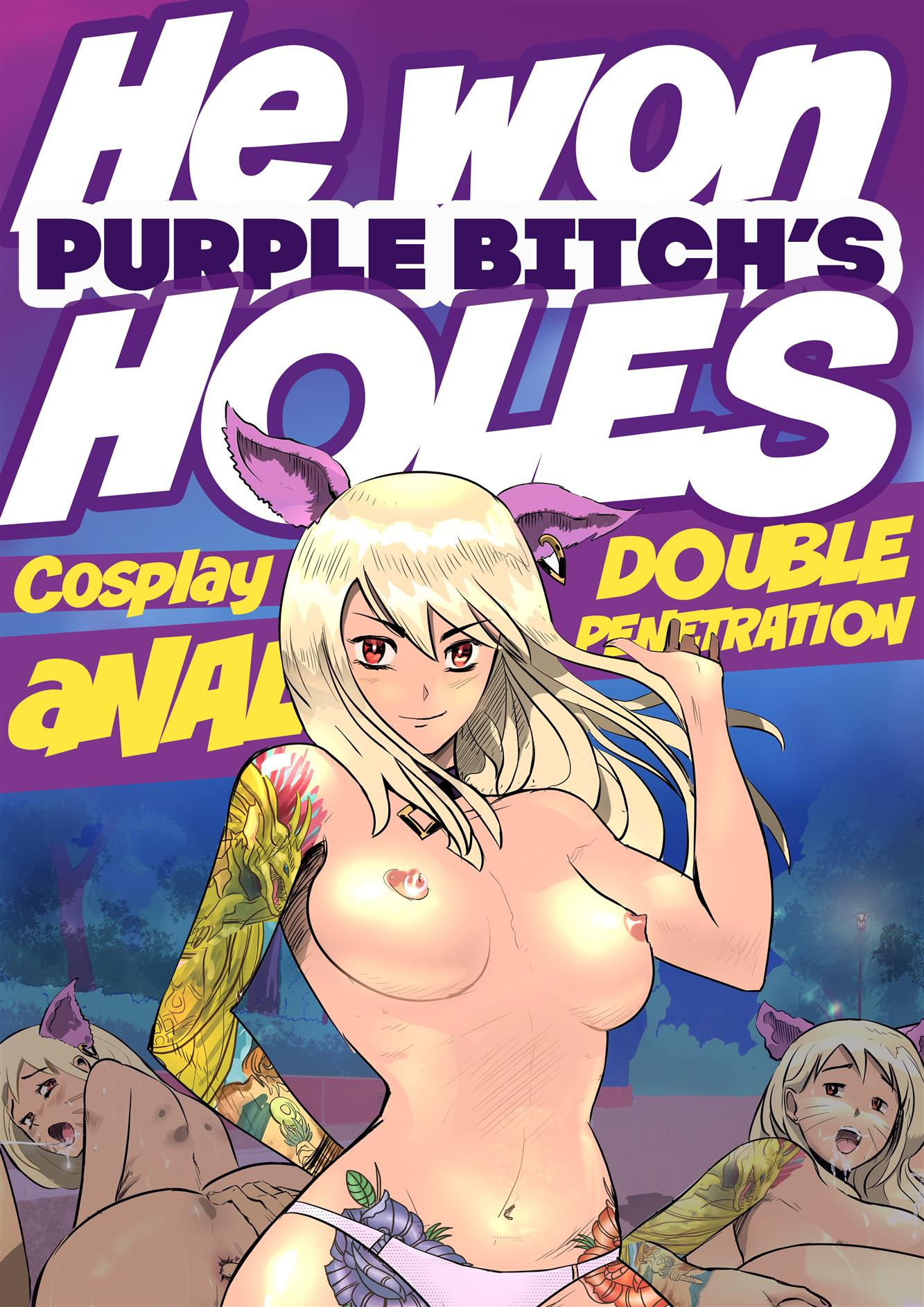 Purple Bitch Hentai