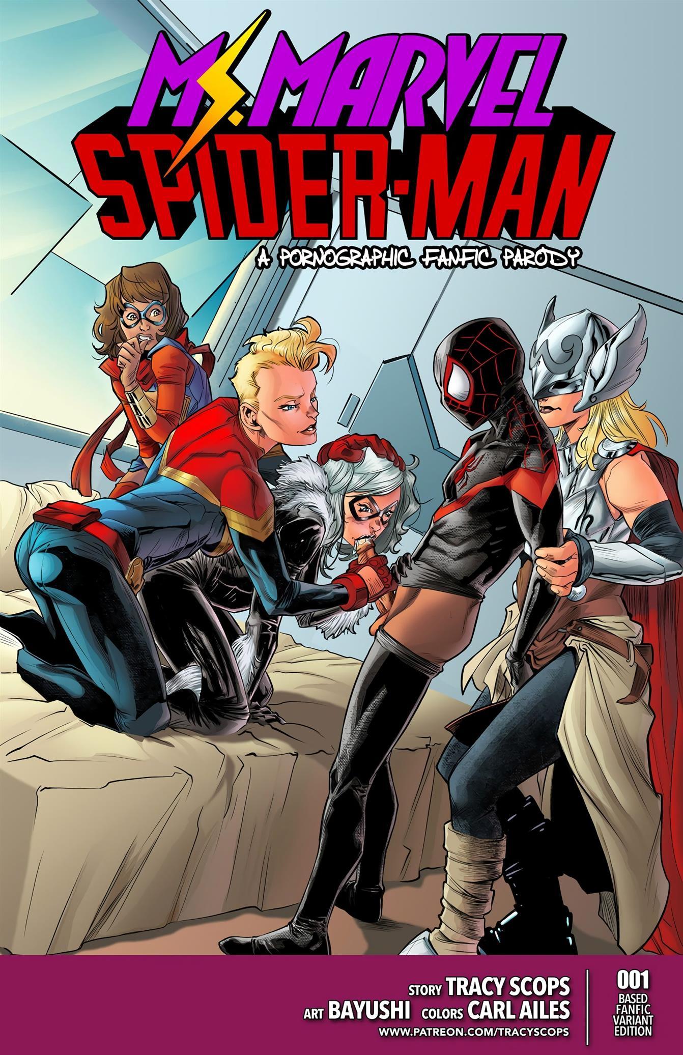 Ms.Marvel/Spiderman 1 [Tracy Scops]