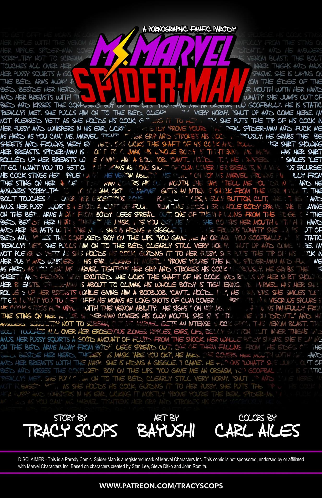 Ms.Marvel/Spiderman 1 [Tracy Scops] - Foto 2