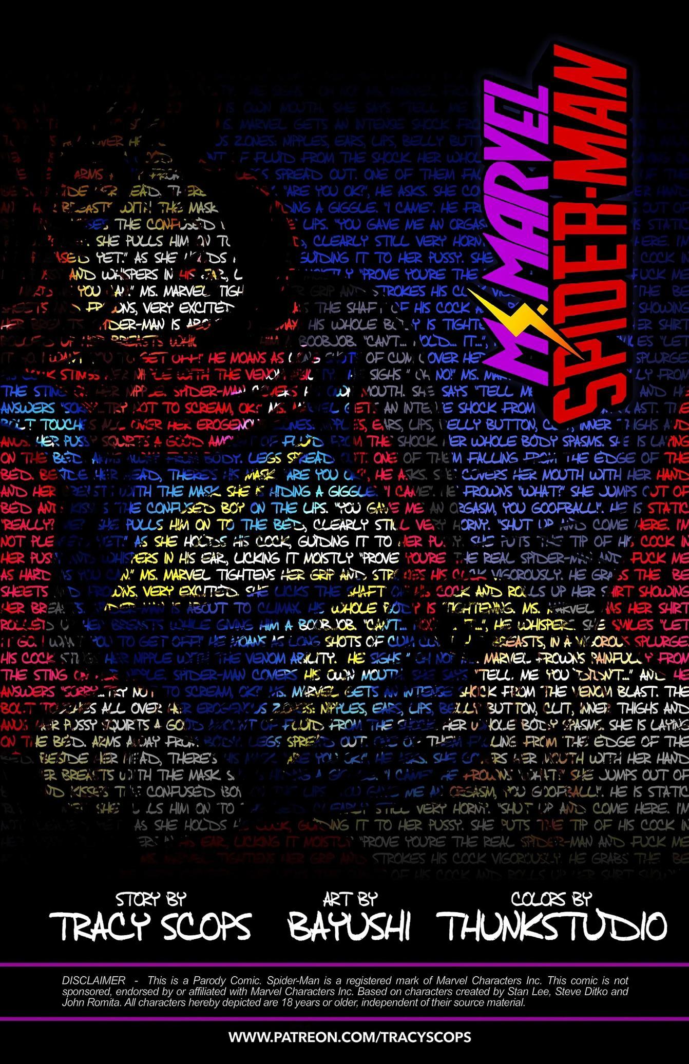 Ms.Marvel/Spiderman 2 [Tracy Scops] - Foto 2