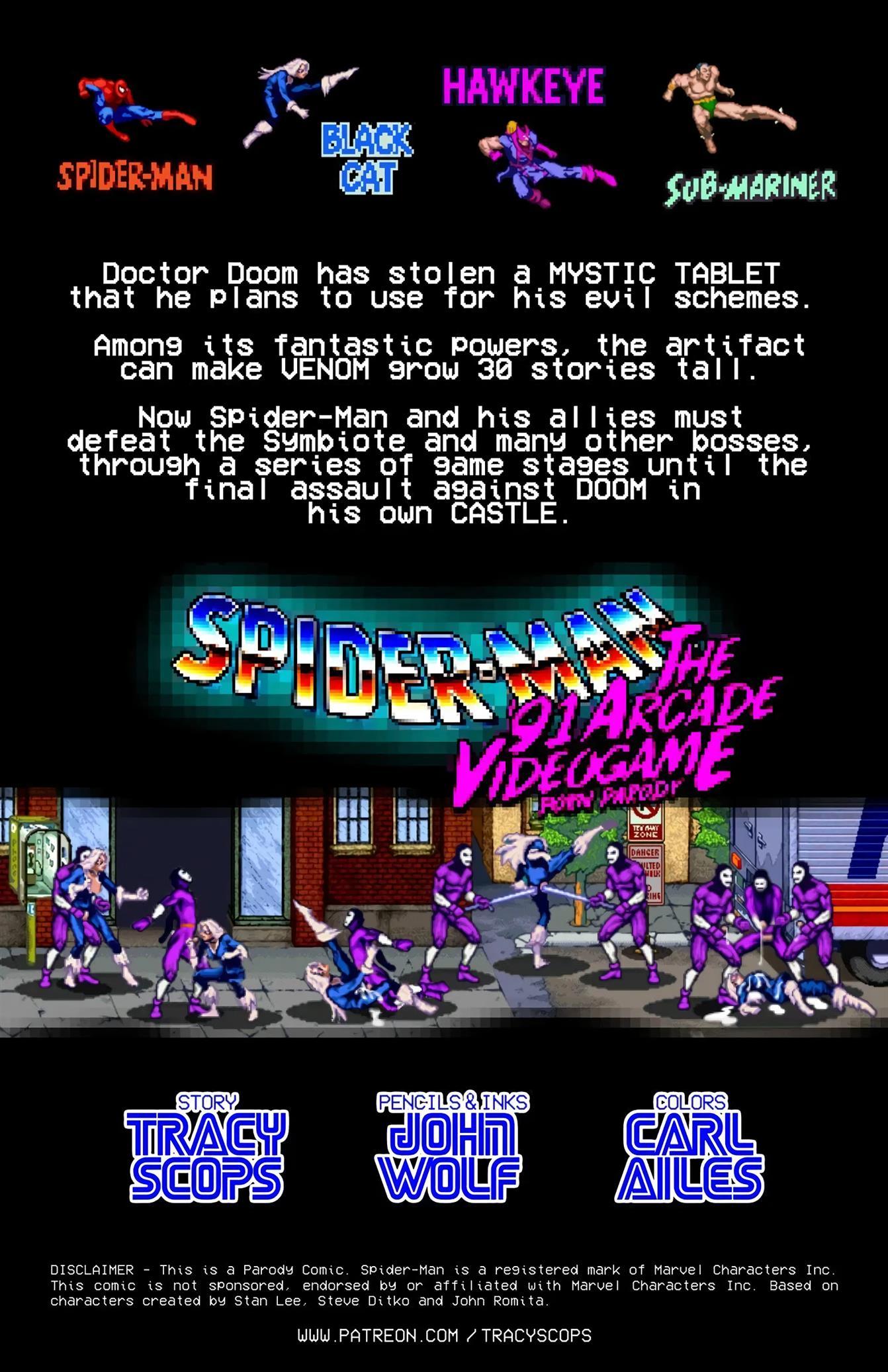John Wolf - Spider-Man the '91 Arcade Video Game - Foto 2