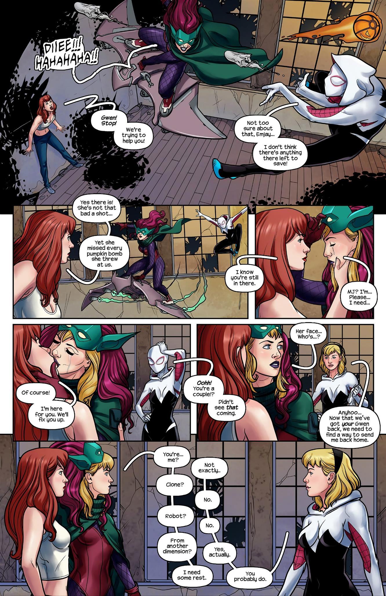 Ghost Spider VS. Green Goblin (Spider-Man) - Foto 3