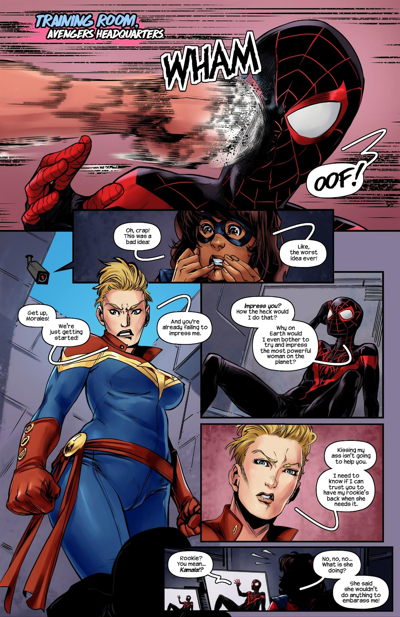 Ms.Marvel/Spiderman 2 [Tracy Scops] - Foto 3