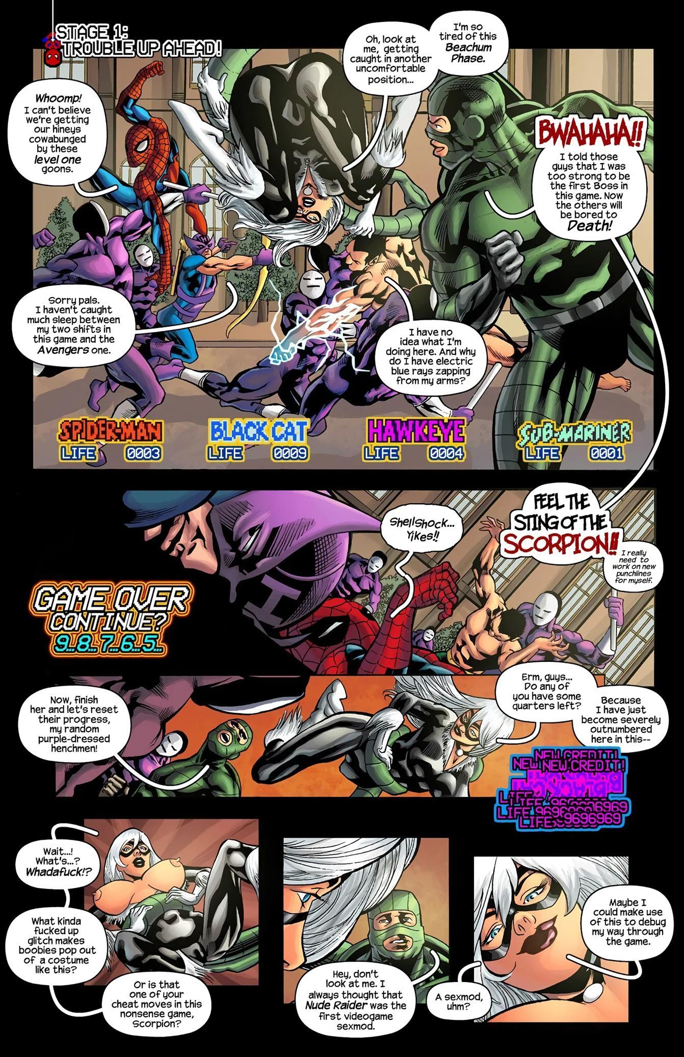 John Wolf - Spider-Man the '91 Arcade Video Game - Foto 3