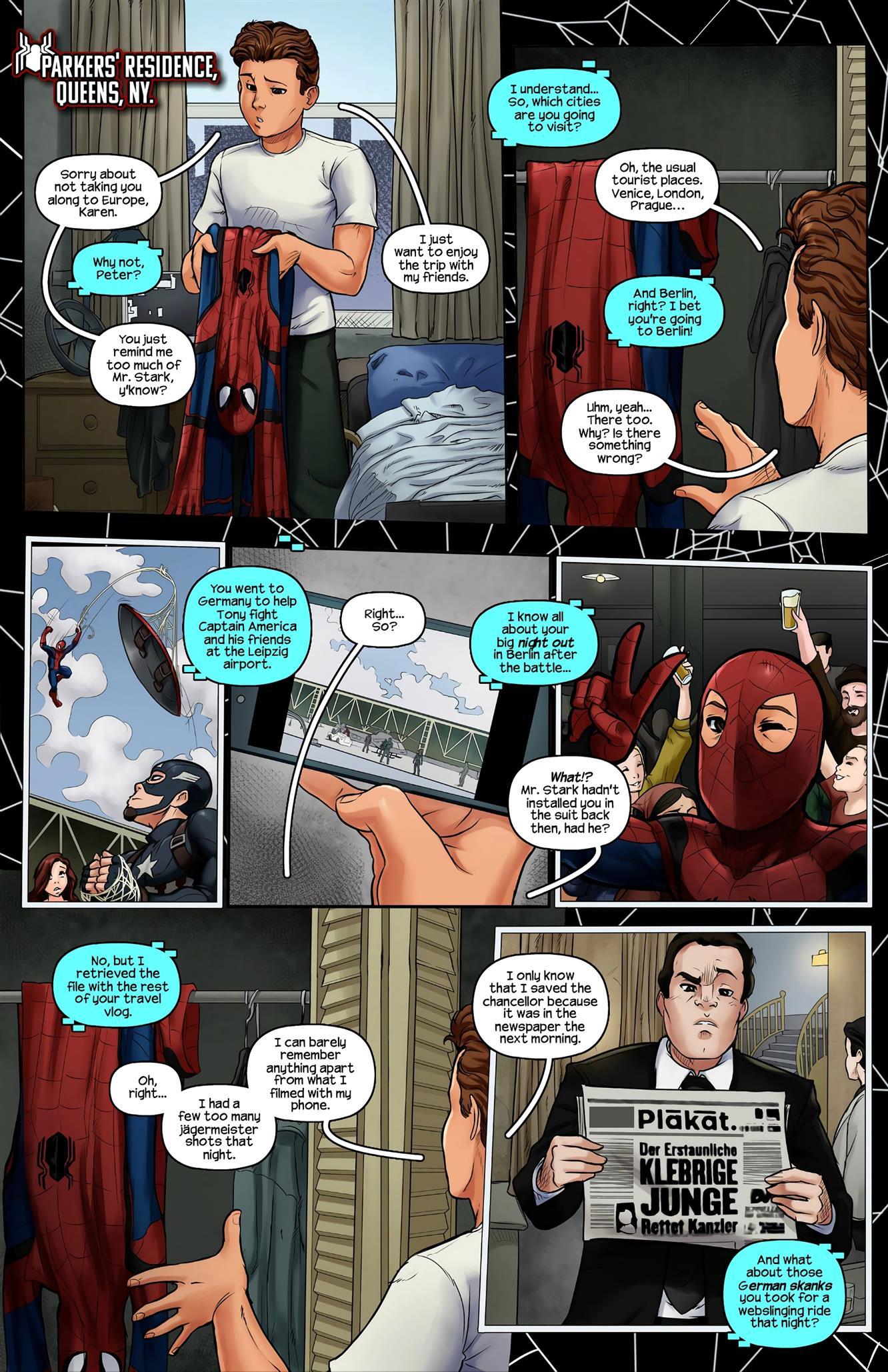 Haptics Protocol 2 (Spider-Man) [Tracy Scops] - Foto 3
