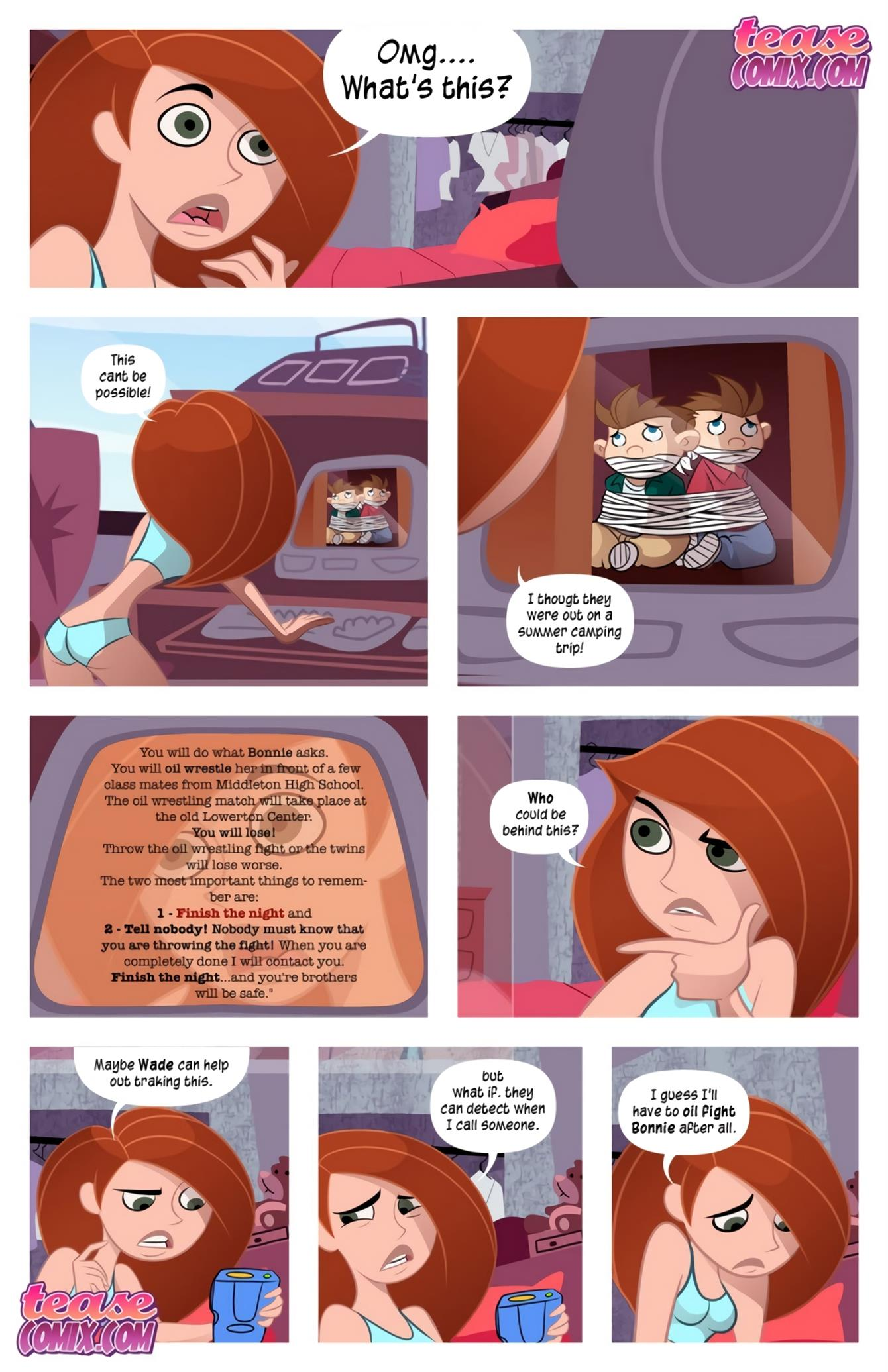 Cheer Fight (Kim Possible) [Tease Comix] - Foto 3