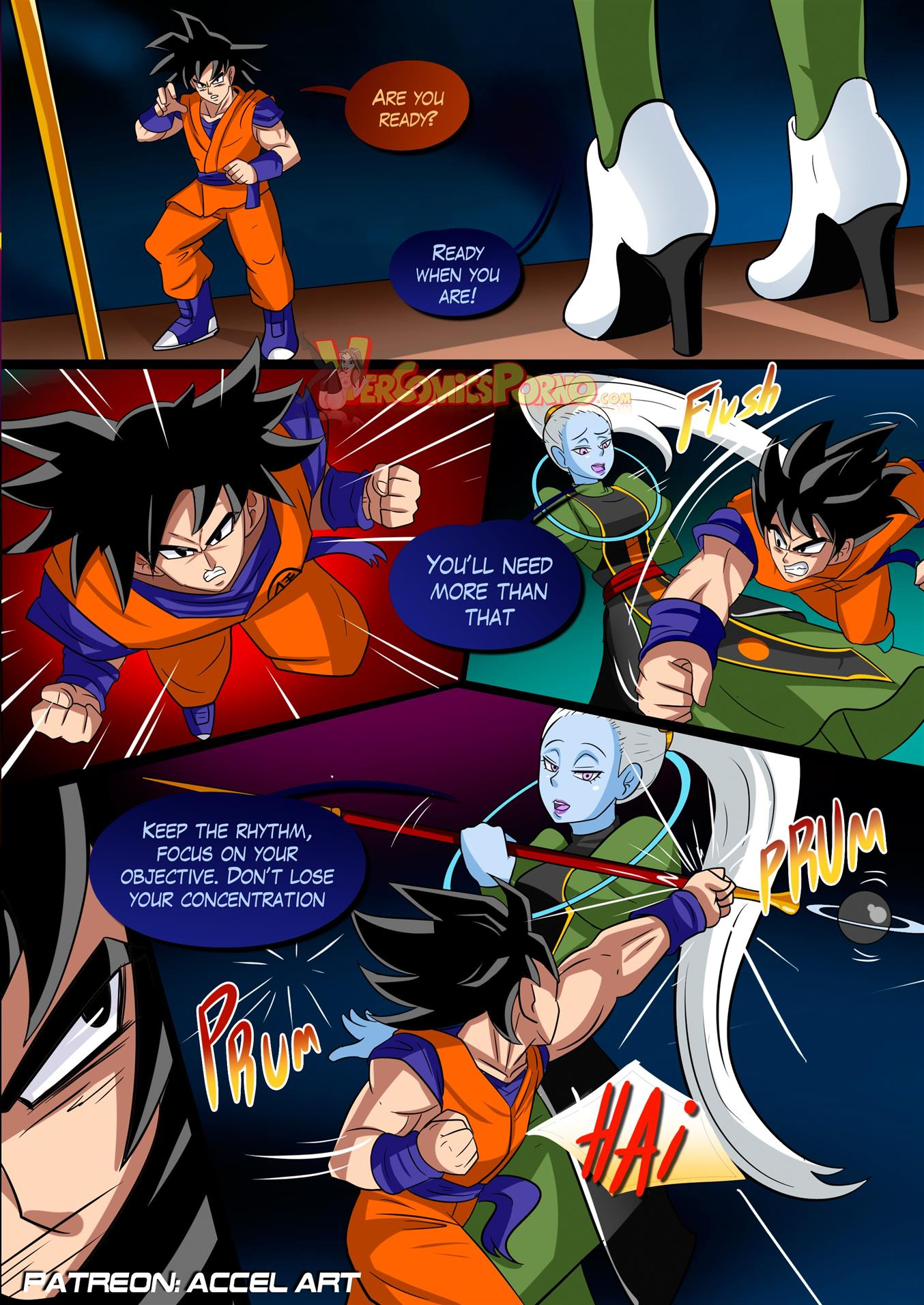 Special Training (Dragon Ball Super) [Accel Art] - Foto 4
