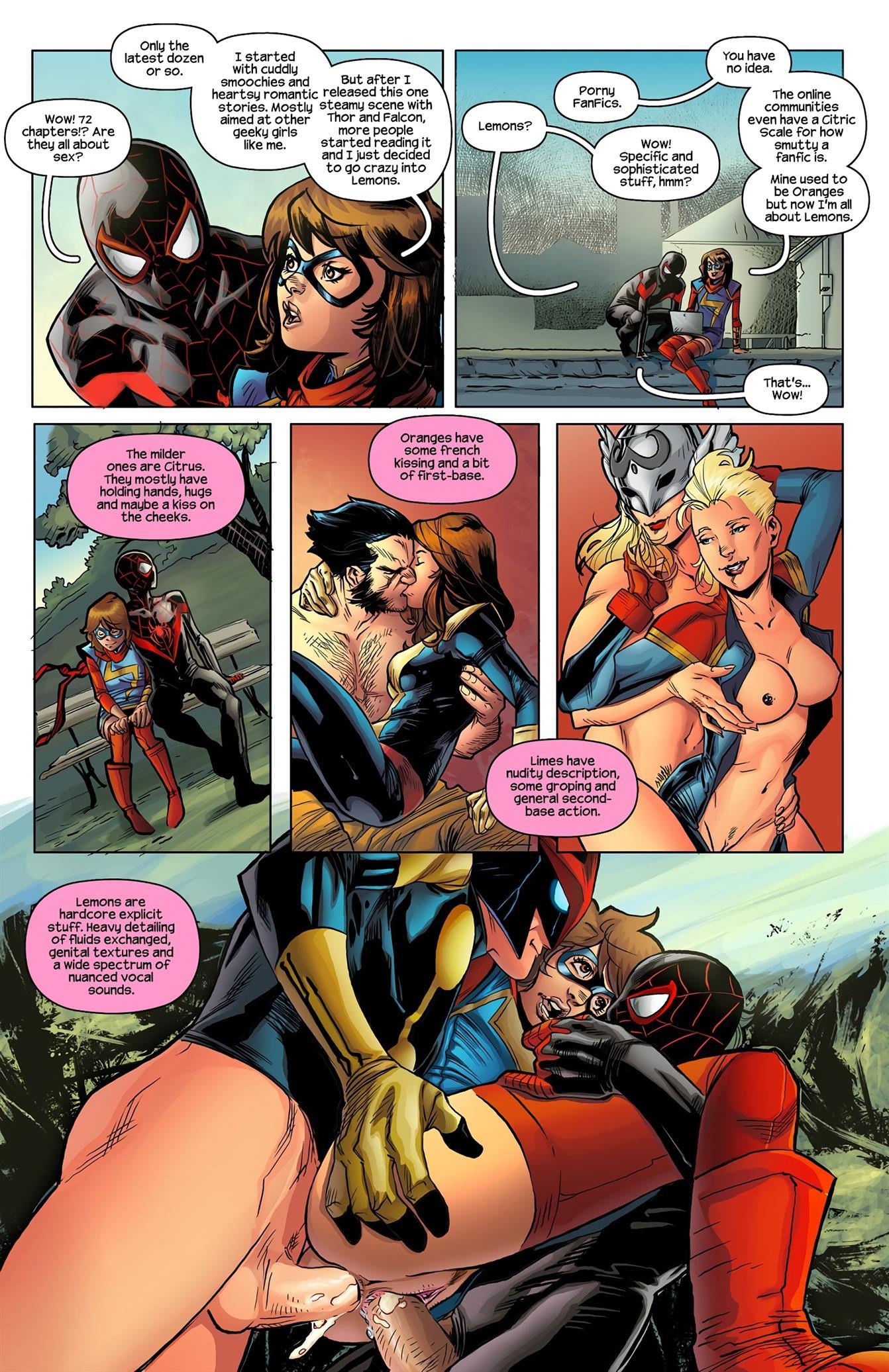 Ms.Marvel/Spiderman 1 [Tracy Scops] - Foto 5