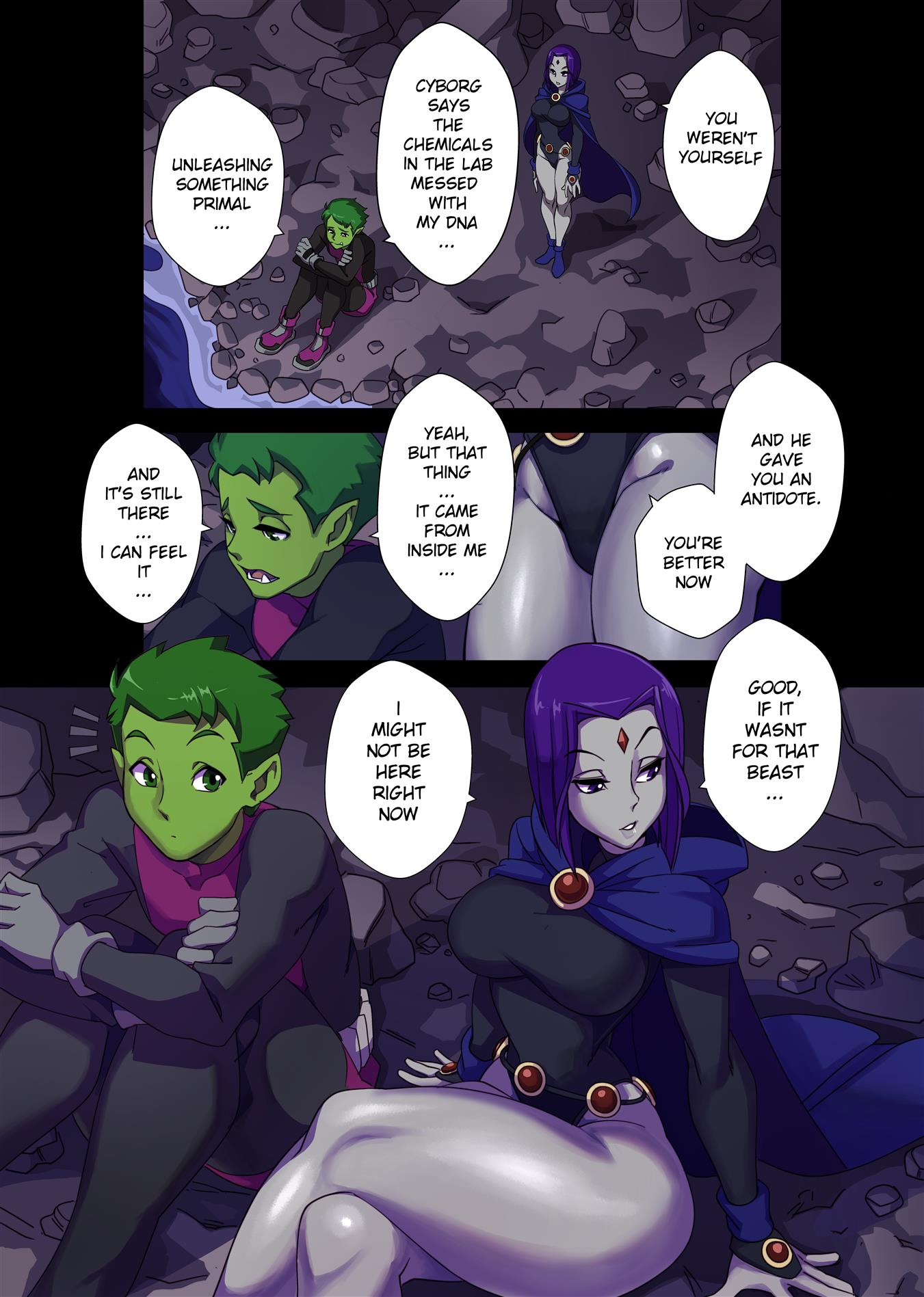 The Beast Within Me (Teen Titans) [Nisego] - Foto 4