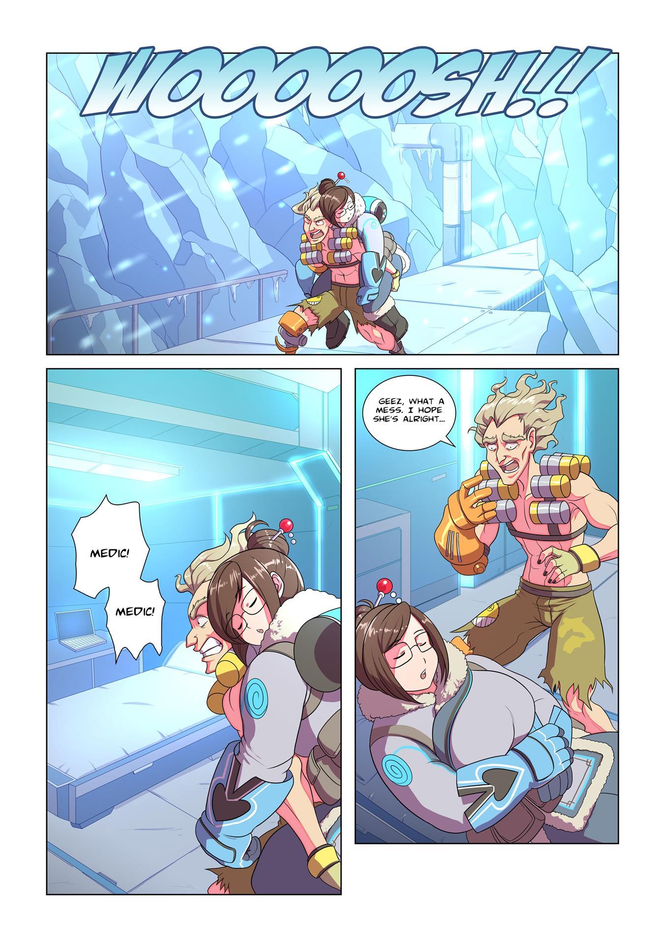 Ameizing Frost Jobs #1 (Overwatch) [KISELROK] - Foto 6
