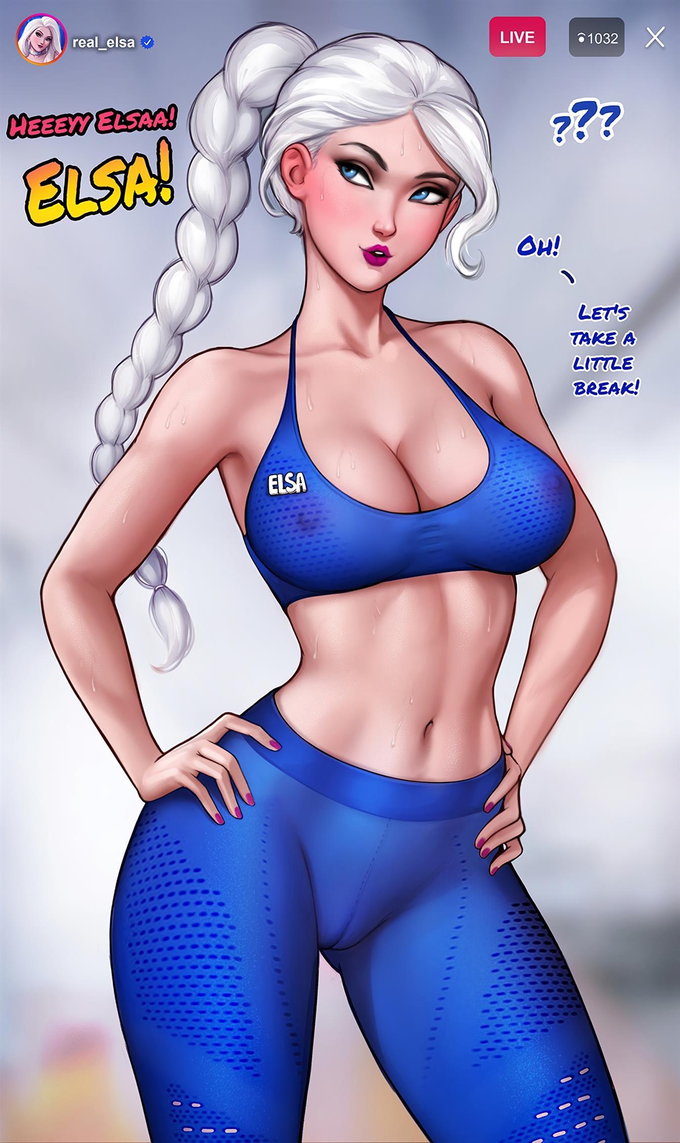 How to train your ass with Elsa (Frozen) [Aroma Sensei] - Foto 9