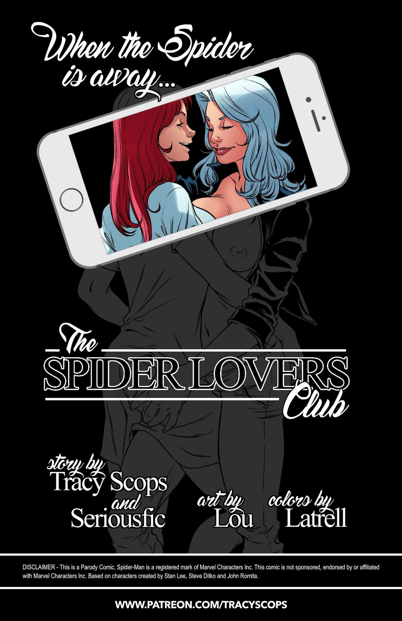 SPIDER LOVERS CLUB (Spider-man) [TracyScops] - Foto 2