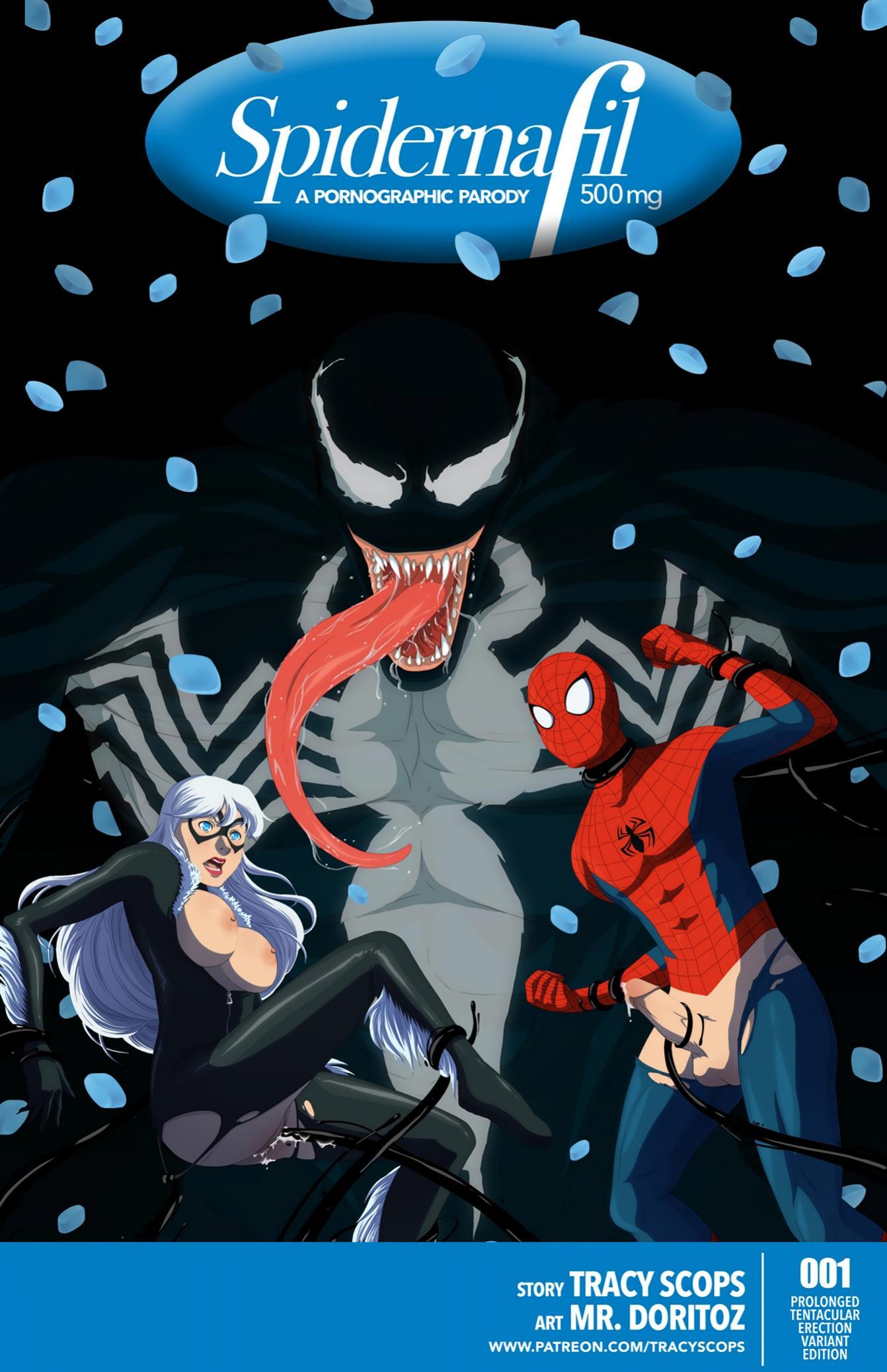 Spidernafil (Spider-Man) [Tracy Scops]