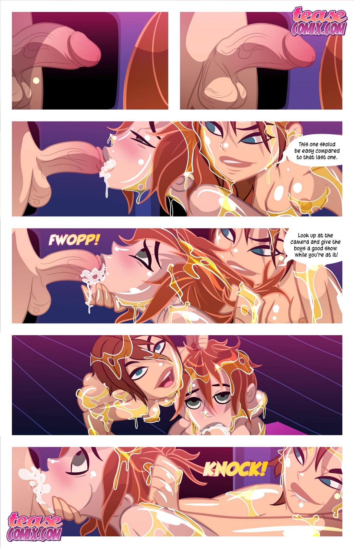 Cheer Fight (Kim Possible) [Tease Comix] - Foto 32