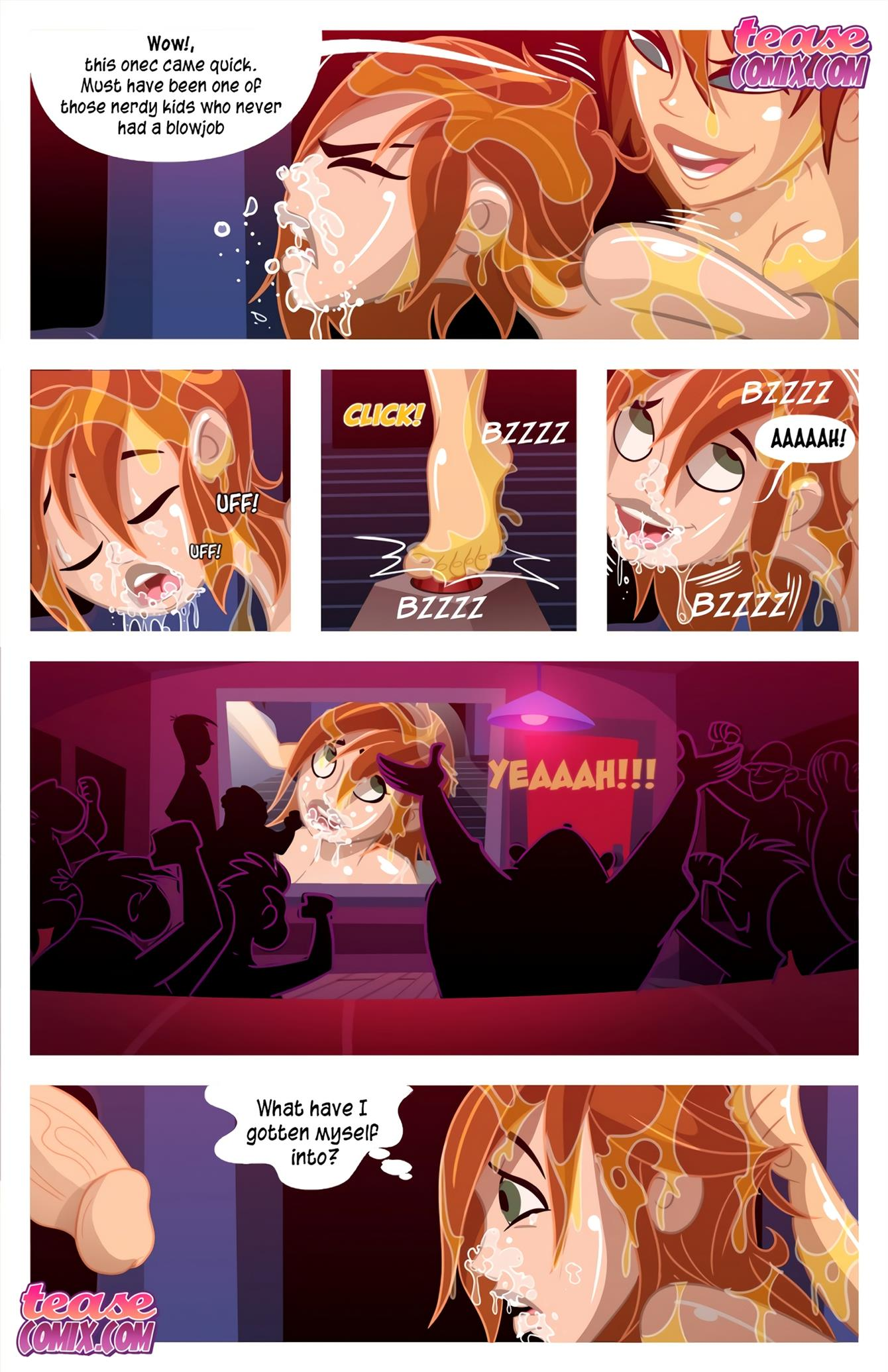 Cheer Fight (Kim Possible) [Tease Comix] - Foto 34