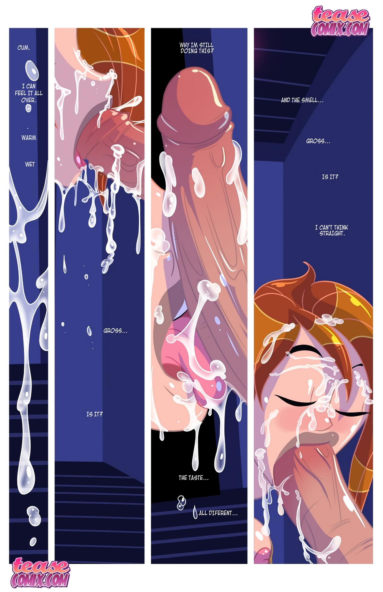 Cheer Fight (Kim Possible) [Tease Comix] - Foto 44