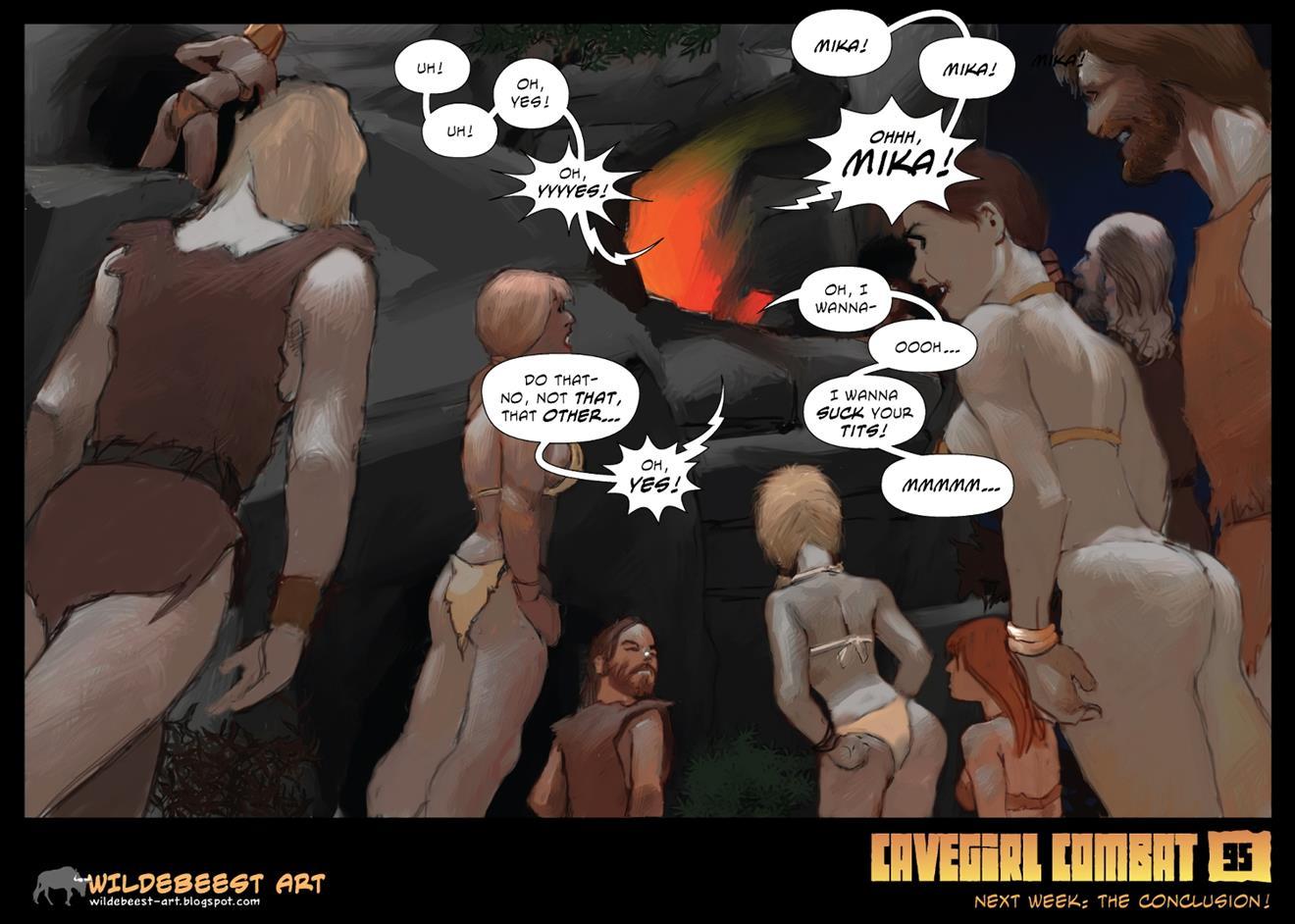 Cavegirl Combat [Wildebeest] - Foto 97