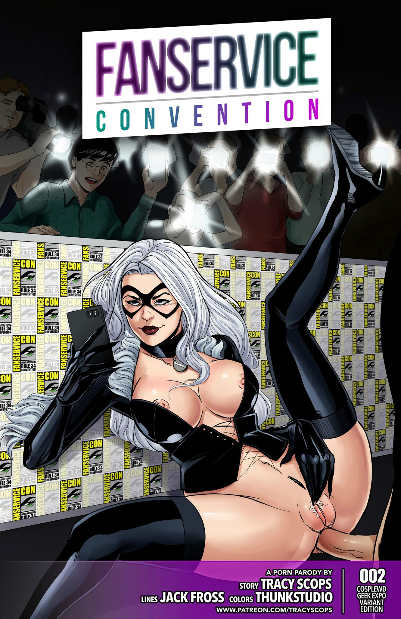 Fanservice Convention 2 [Tracy Scops]