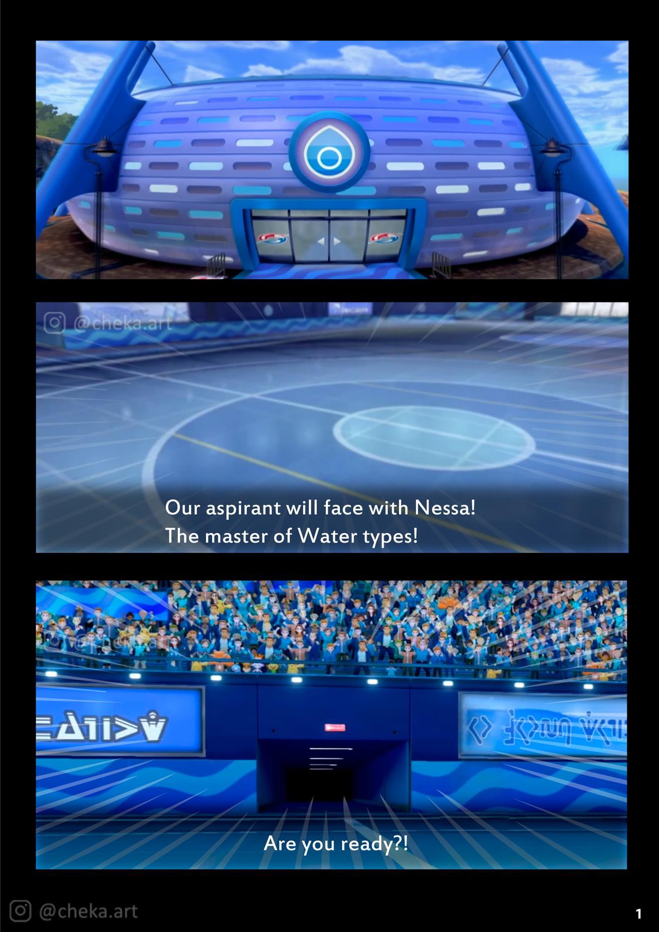 Nessa Battle Gym (Pokémon Sword and Shield) - Foto 2