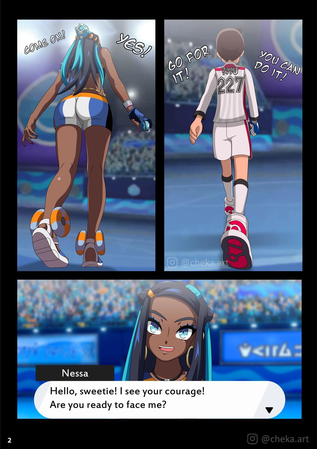 Nessa Battle Gym (Pokémon Sword and Shield) - Foto 3