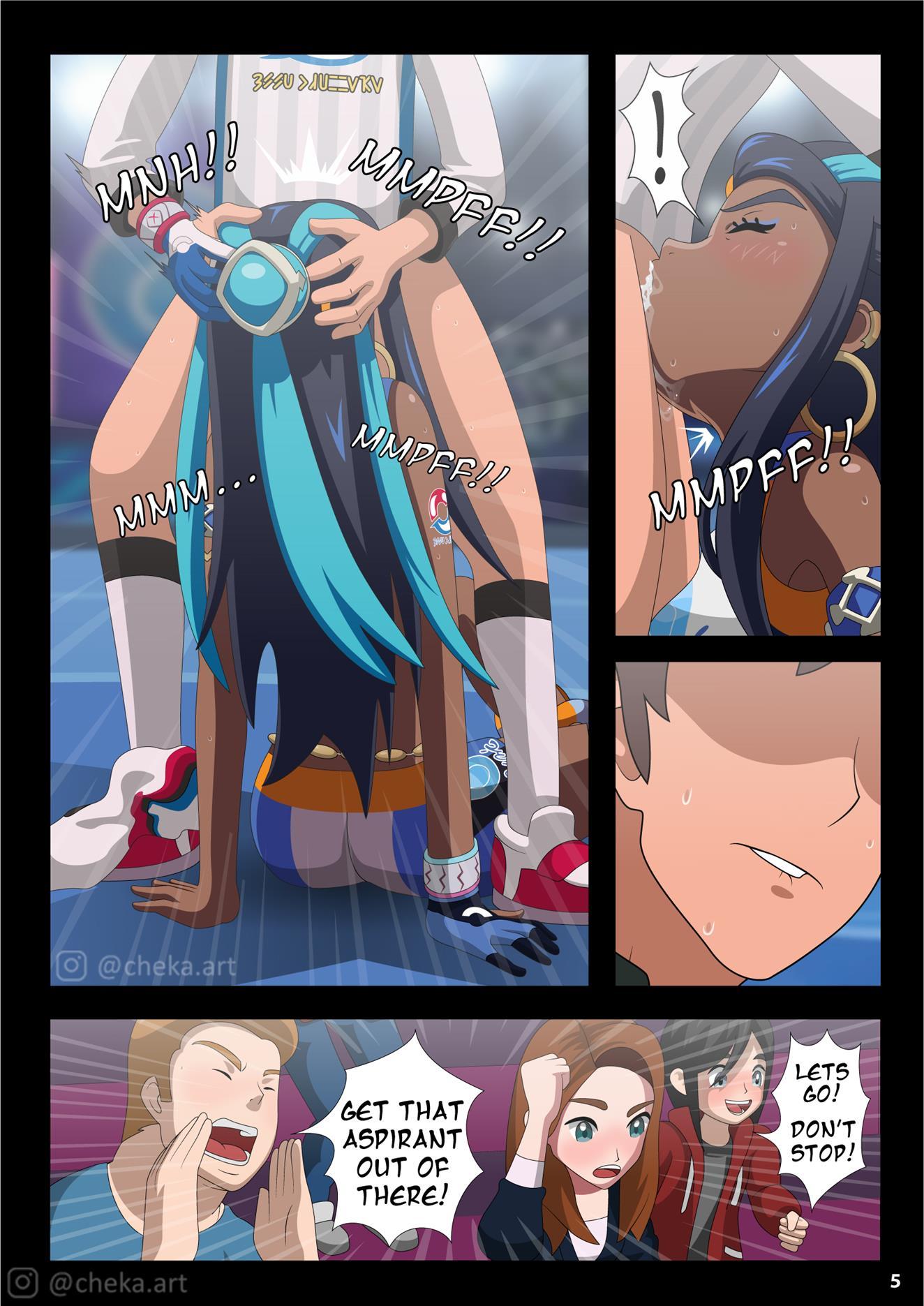Nessa Battle Gym (Pokémon Sword and Shield) - Foto 6