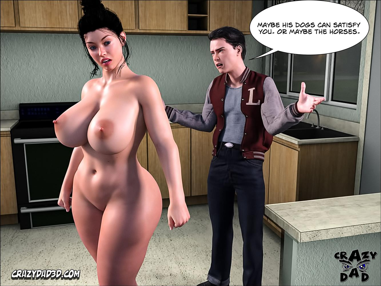 Mom's Help 15 [Crazy Dad 3D] - Foto 51