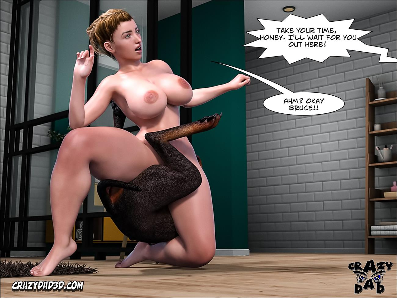 Father-in-Law at Home 12 [Crazy Dad 3D] - Foto 79